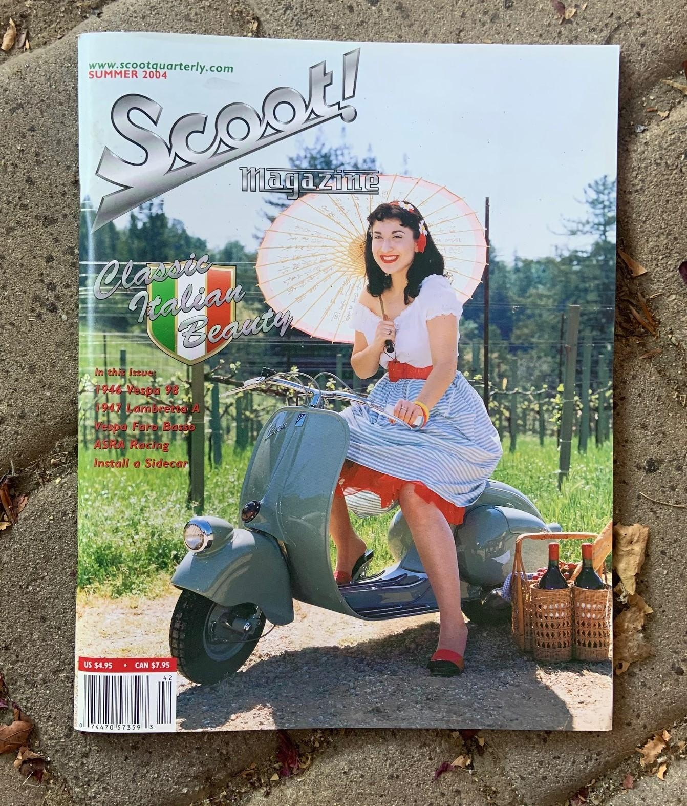 Josh Rogers - Cover of Scoot magazine 2004