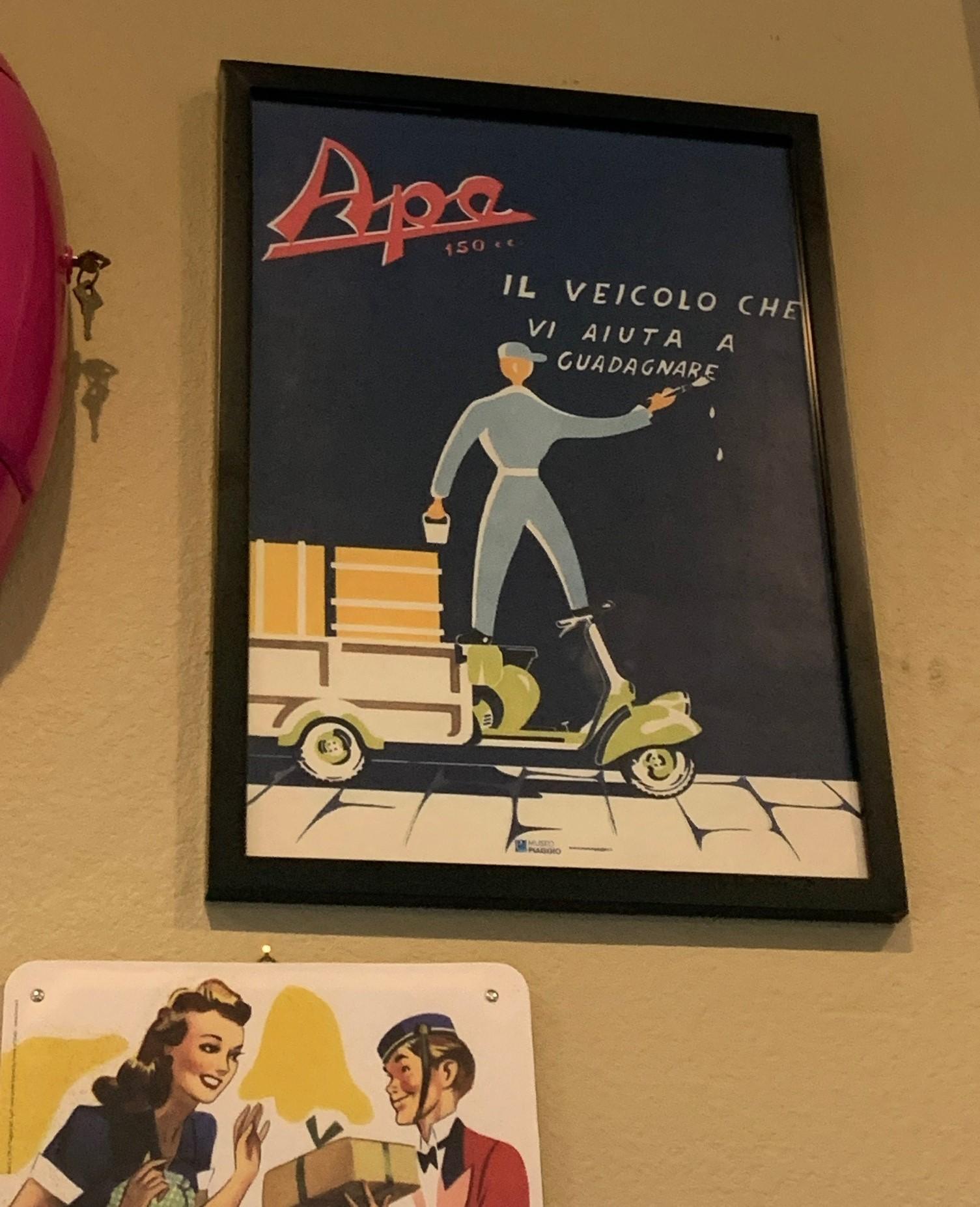 Josh Rogers - Vespa Ape poster