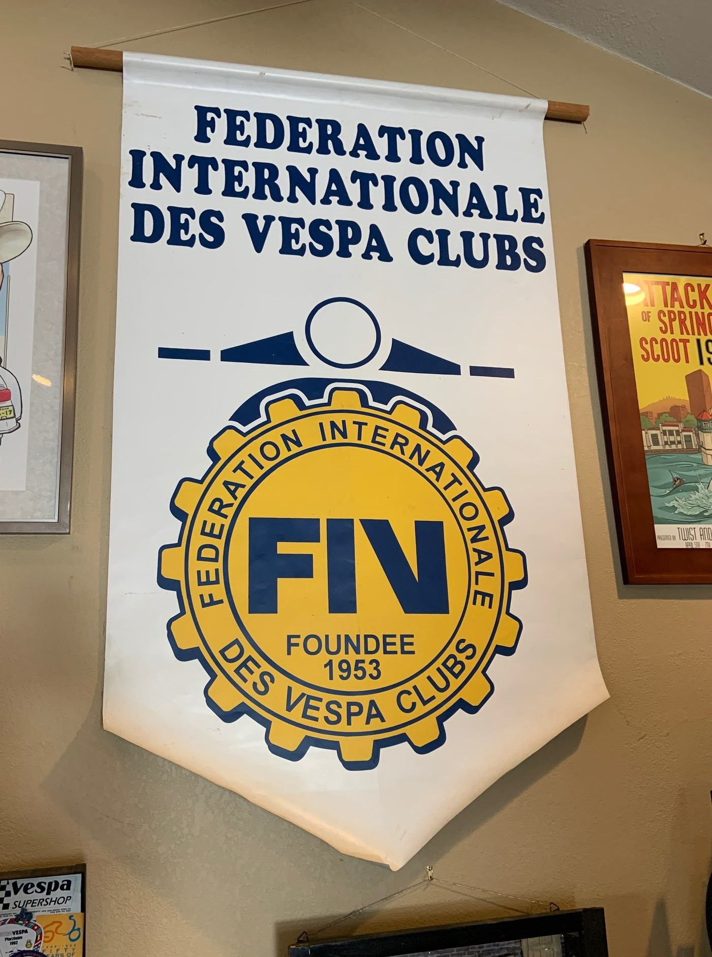 Josh Rogers - Vespa International club sign