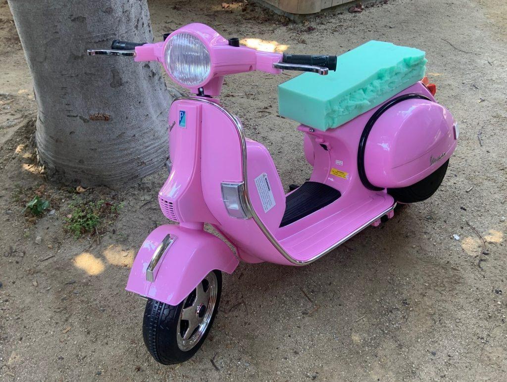 Josh Rogers - Vespa plastic kids scooter