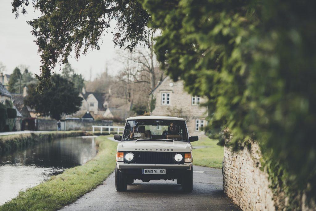 Range Rover Restomod front