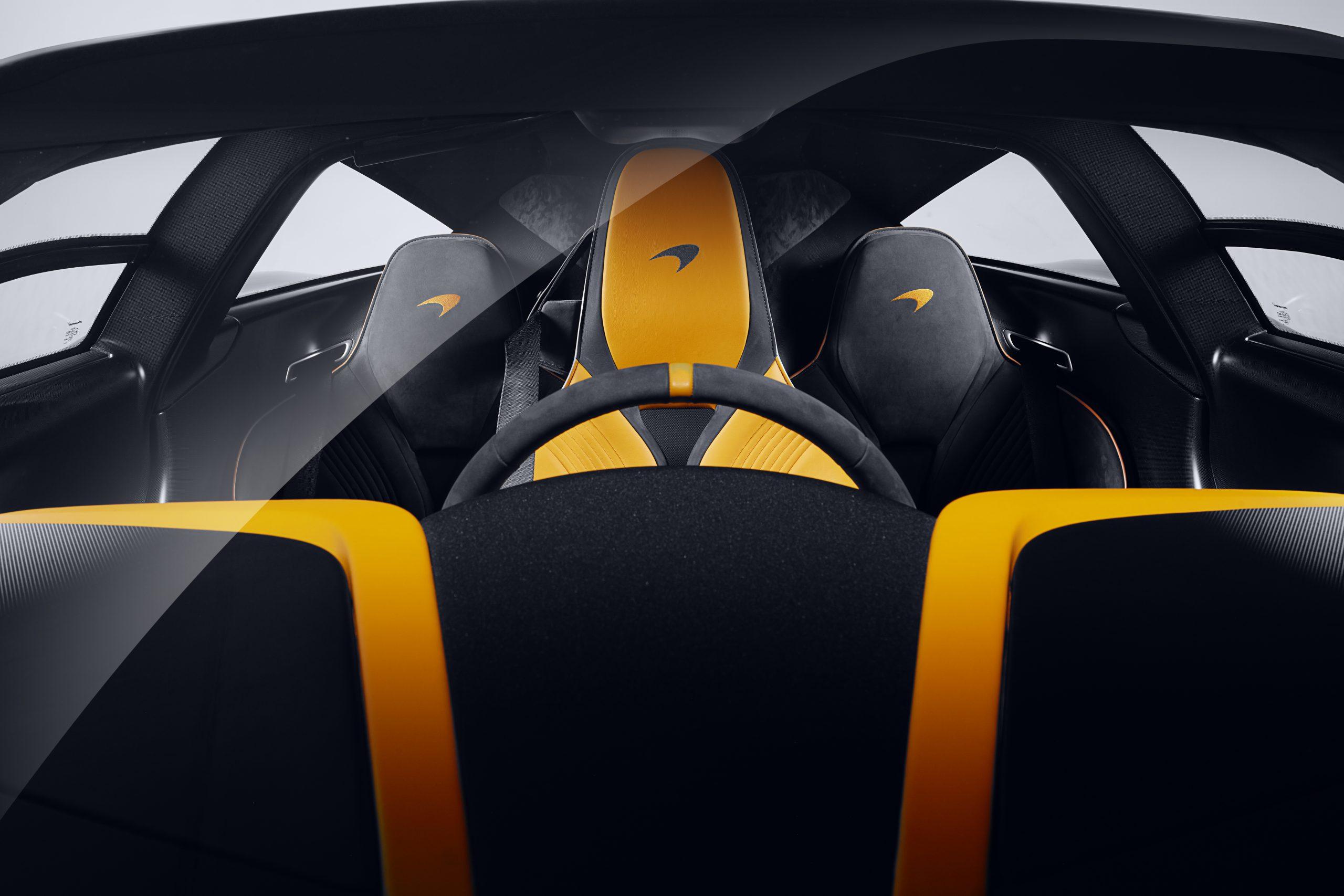 McLaren MSO Albert Speedtail interior
