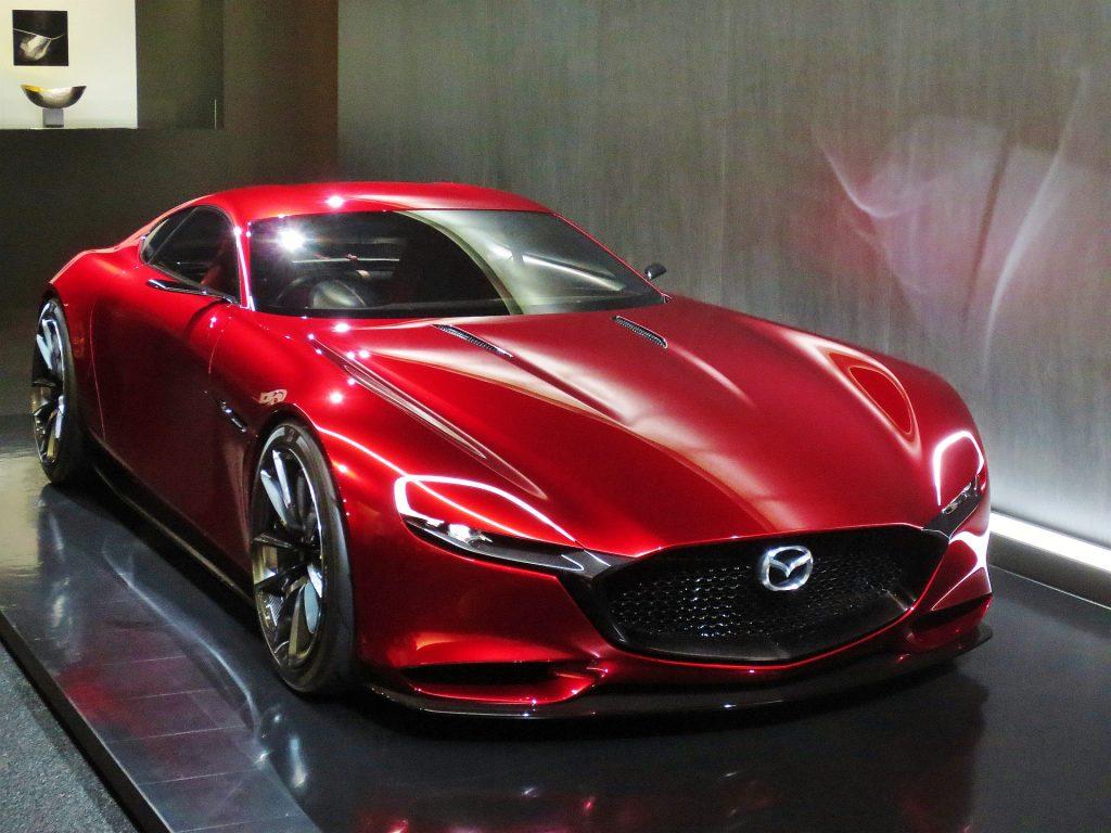 Mazda RX-Vision front three-quarter