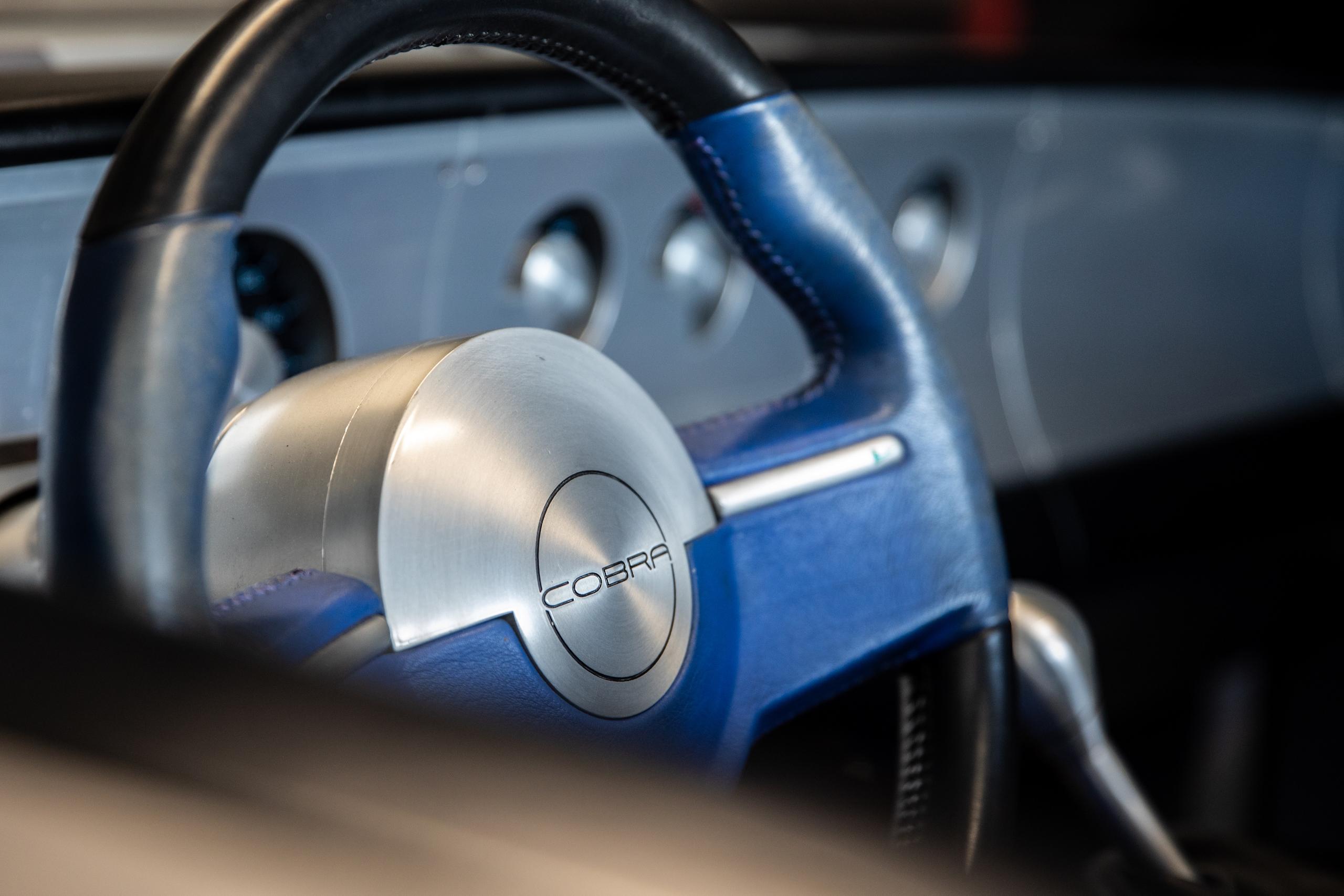 Cobra Concept steering wheel detail