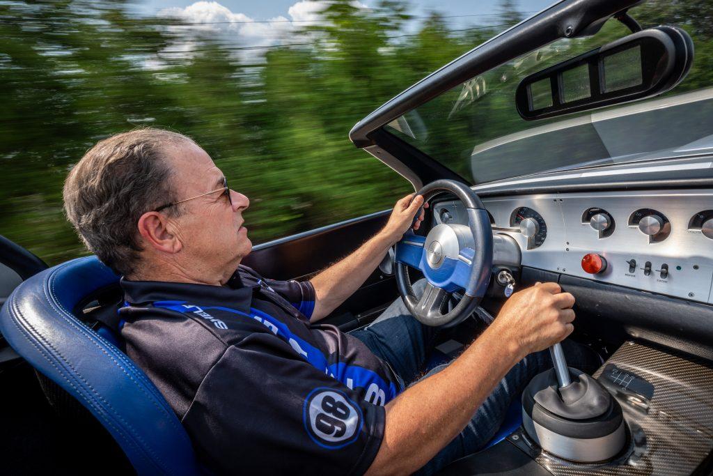 Cobra Concept driving action interior
