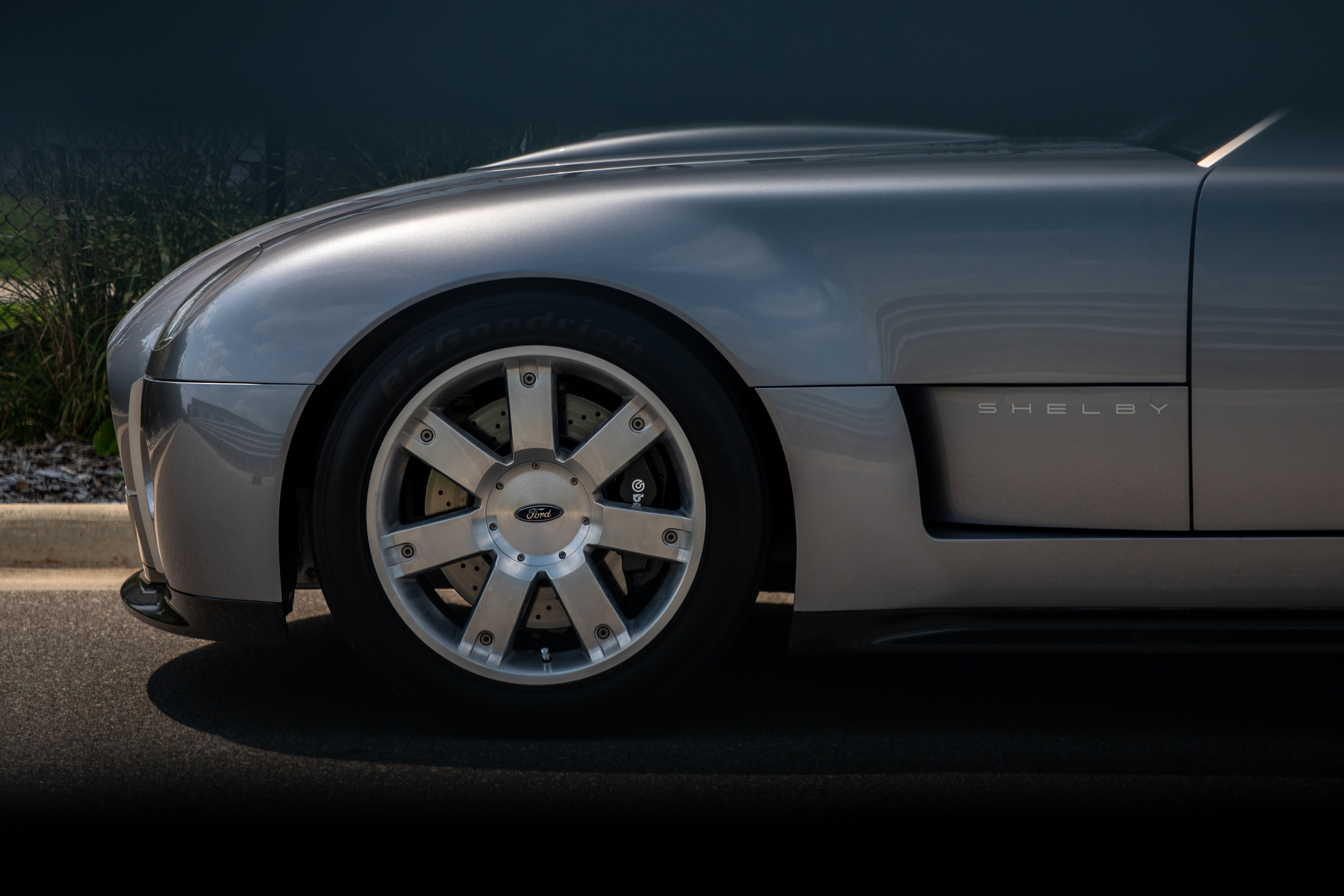 Cobra Concept front end side profile
