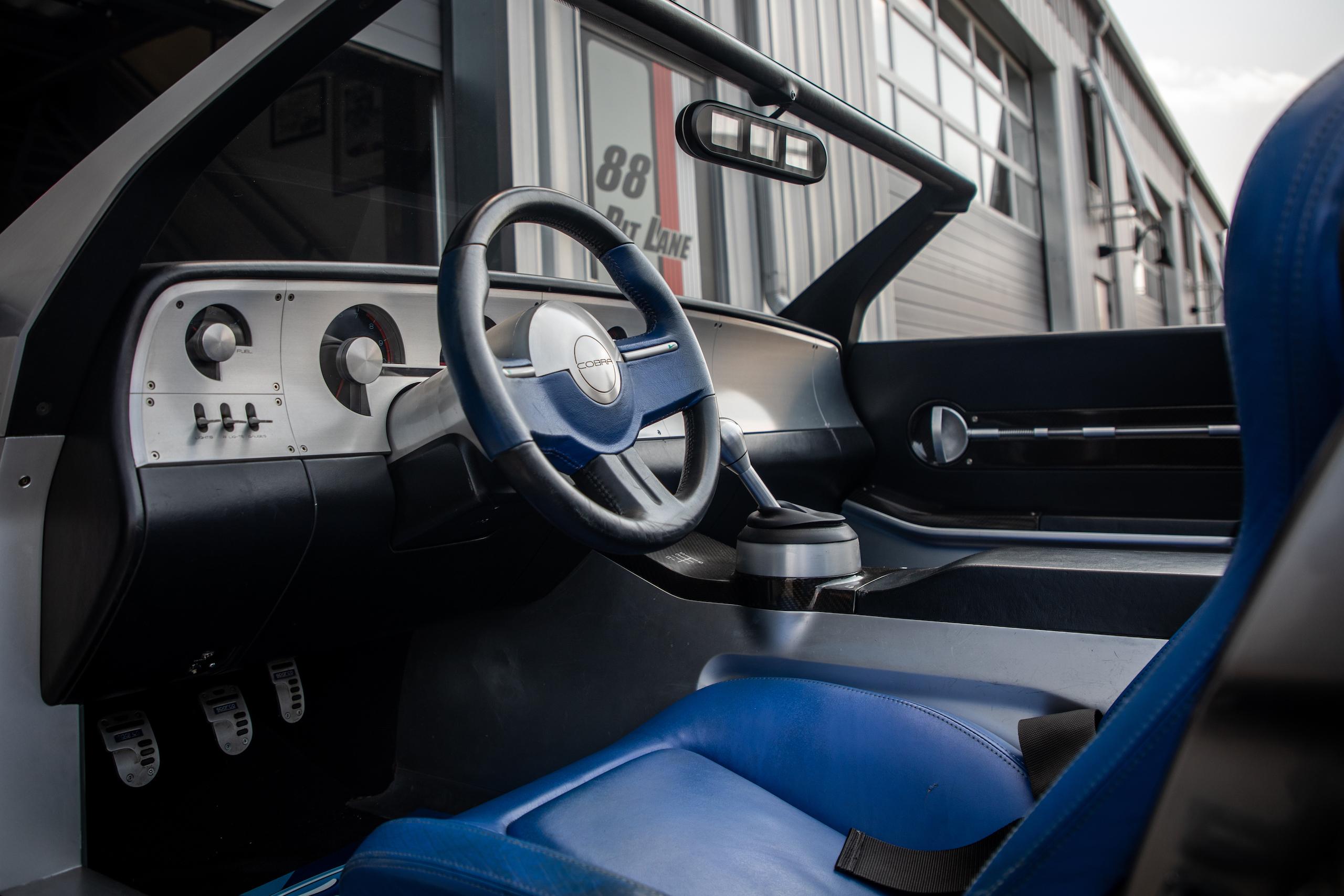 Cobra Concept interior driver cockpit