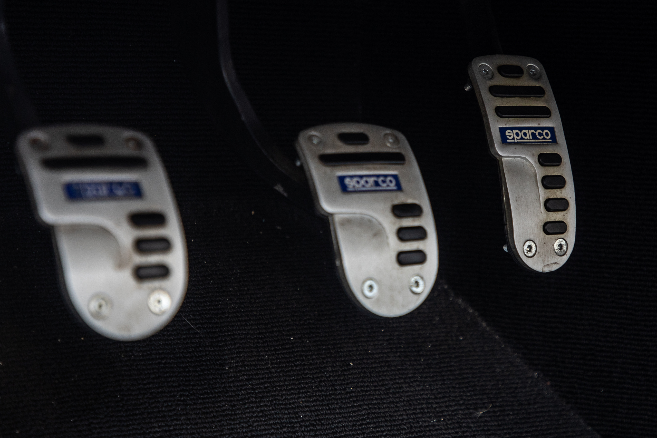 Cobra Concept interior sparco pedals detail