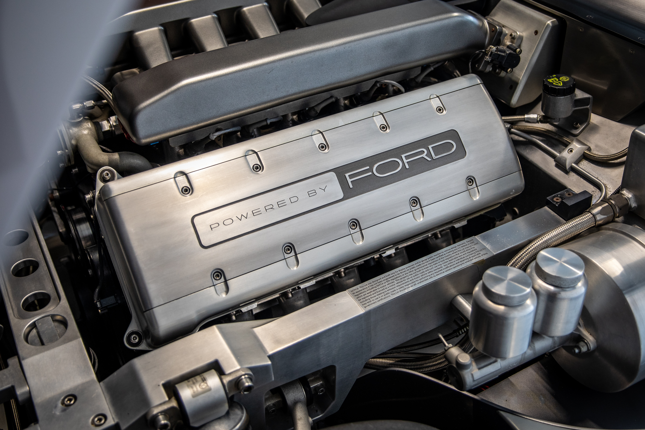 Cobra Concept engine bay angle
