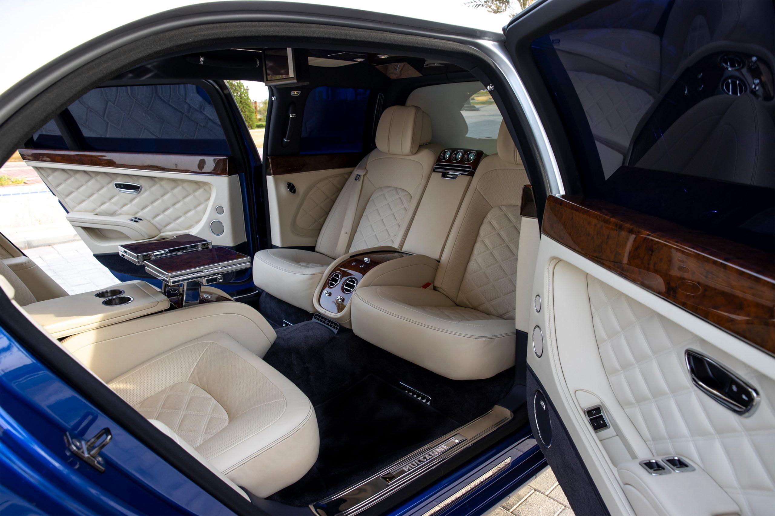 Mulsanne Grand Limousine interior