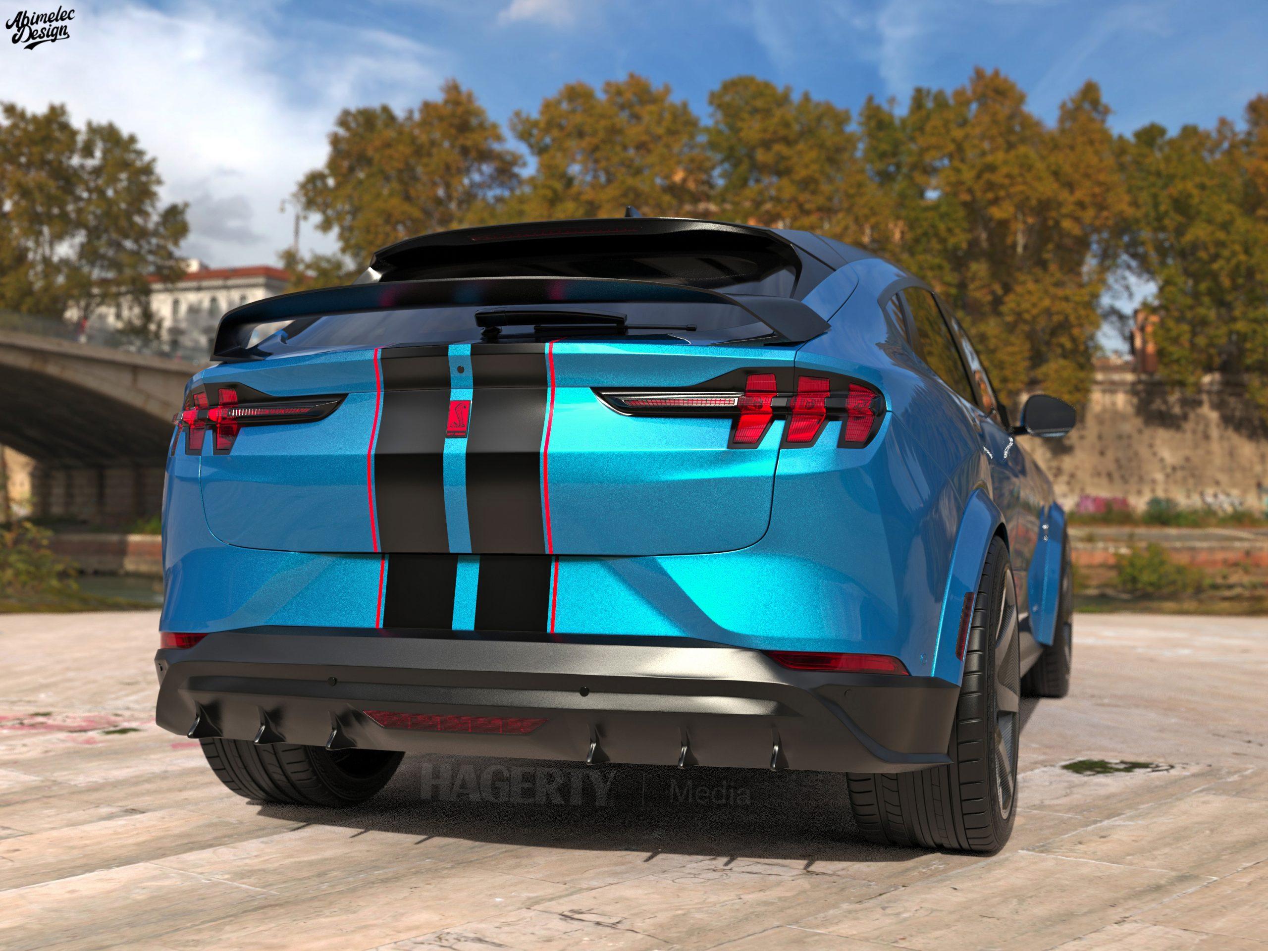 Shelby GTE rear