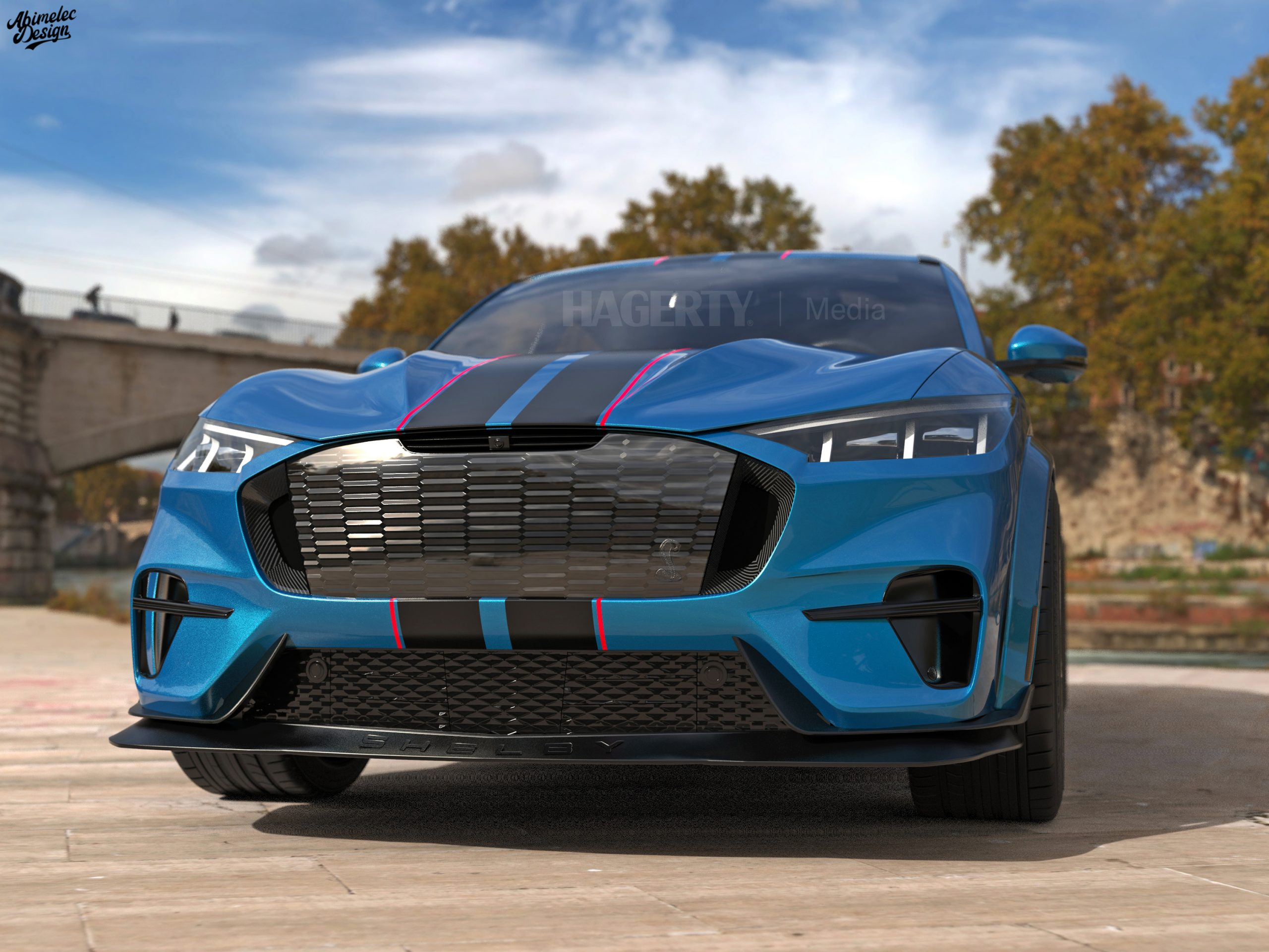 Shelby GTE front