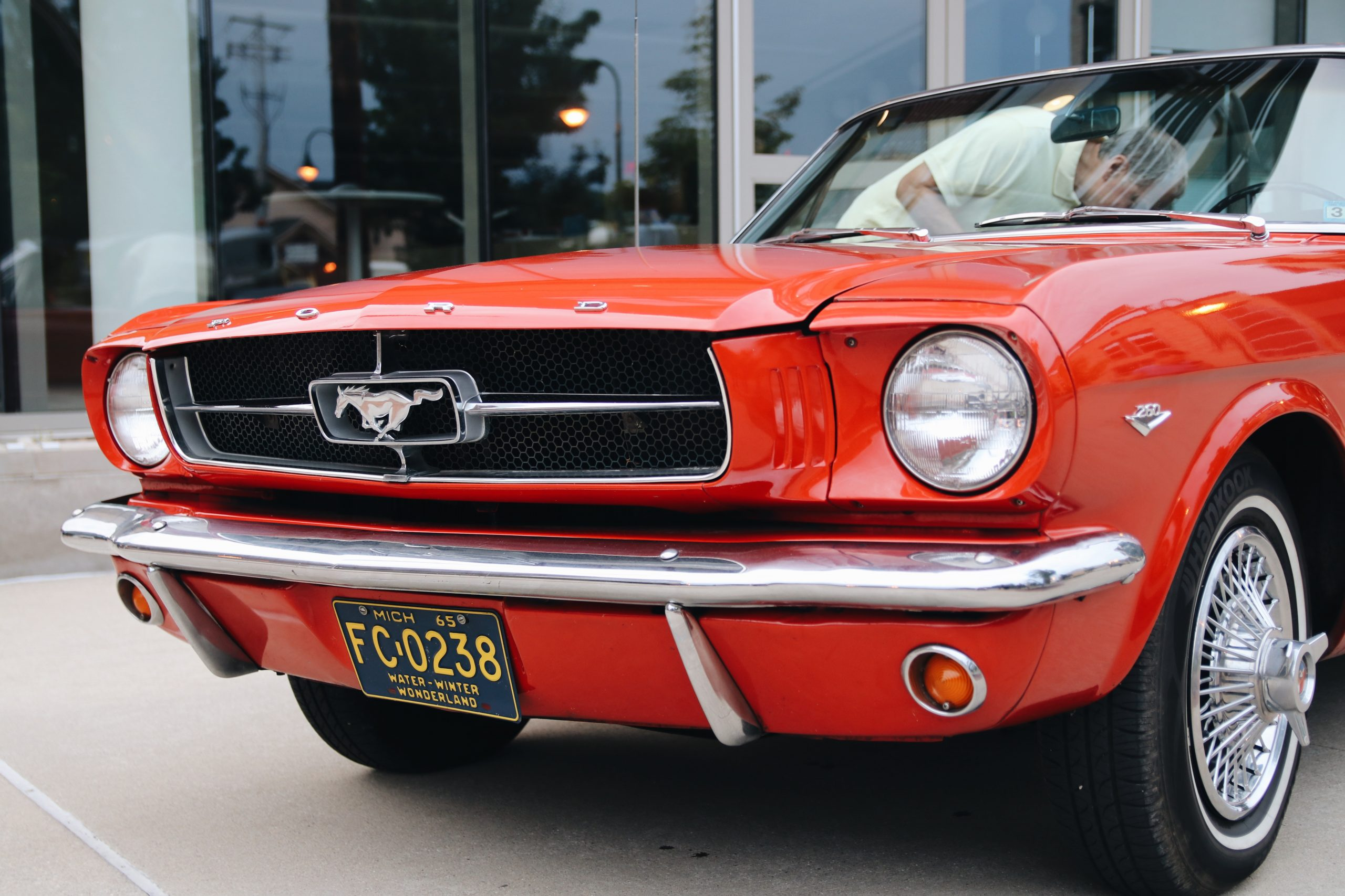 Mel Heppe Mustang front end