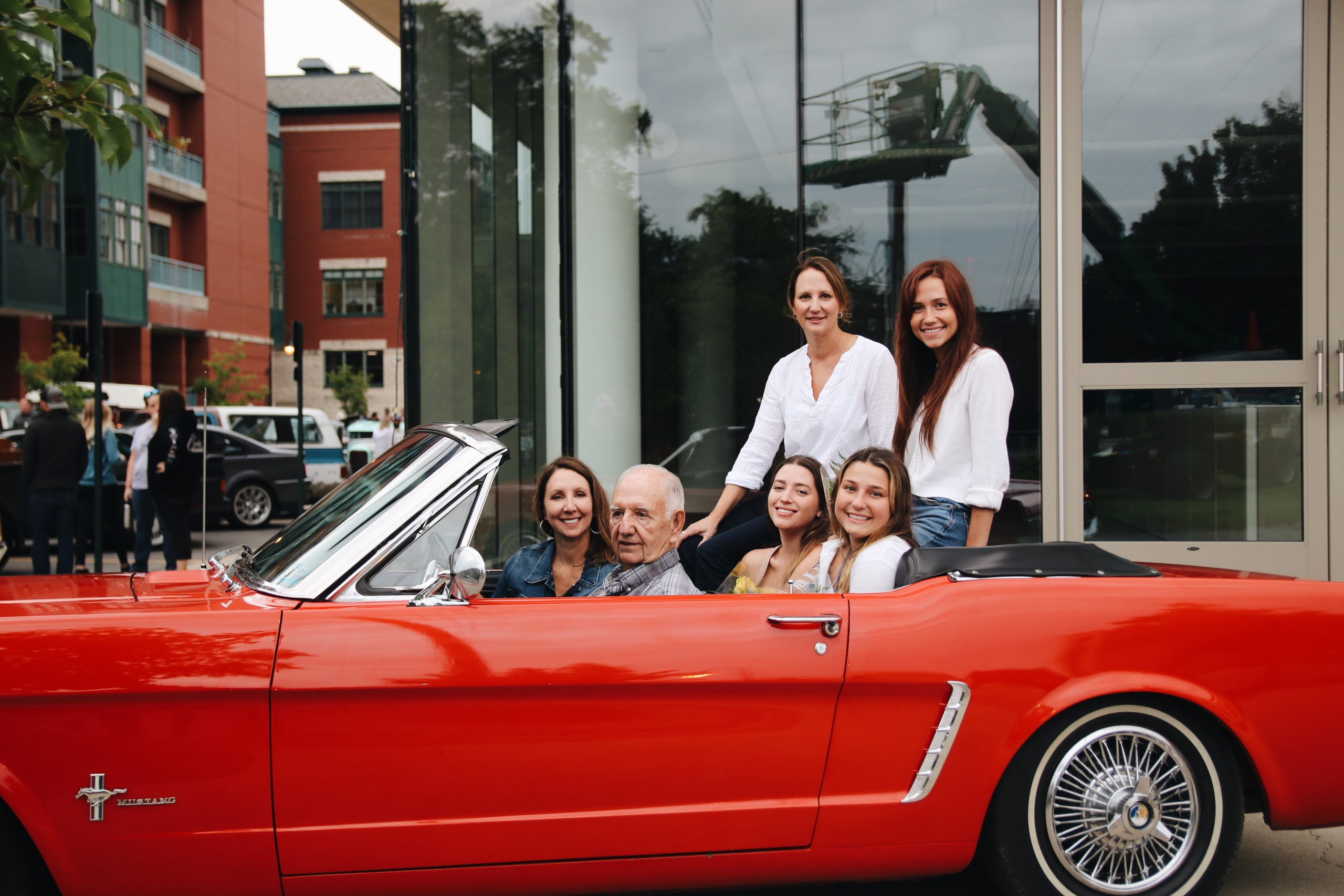 Mel Heppe Mustang family