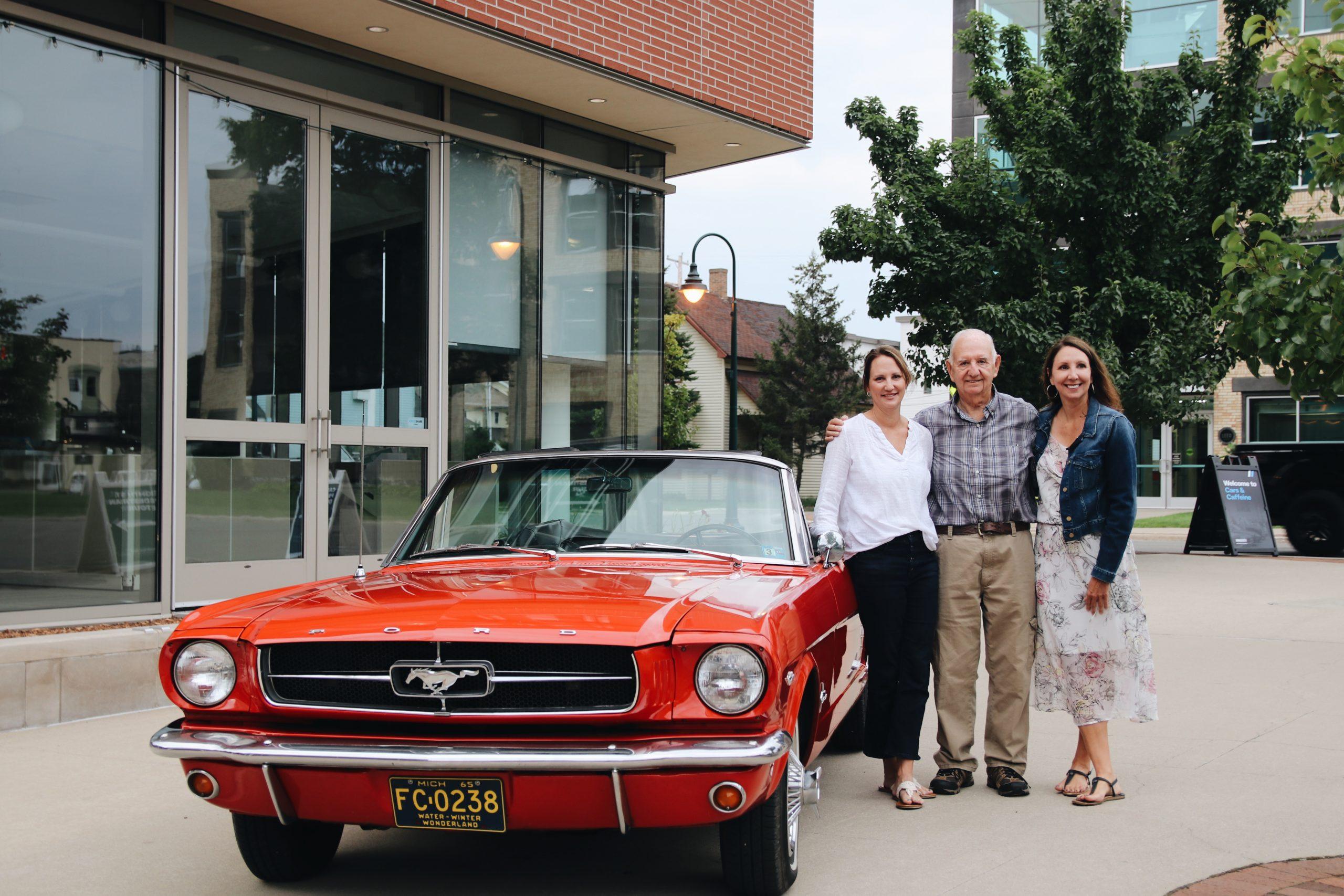 Mel Heppe Mustang daughters