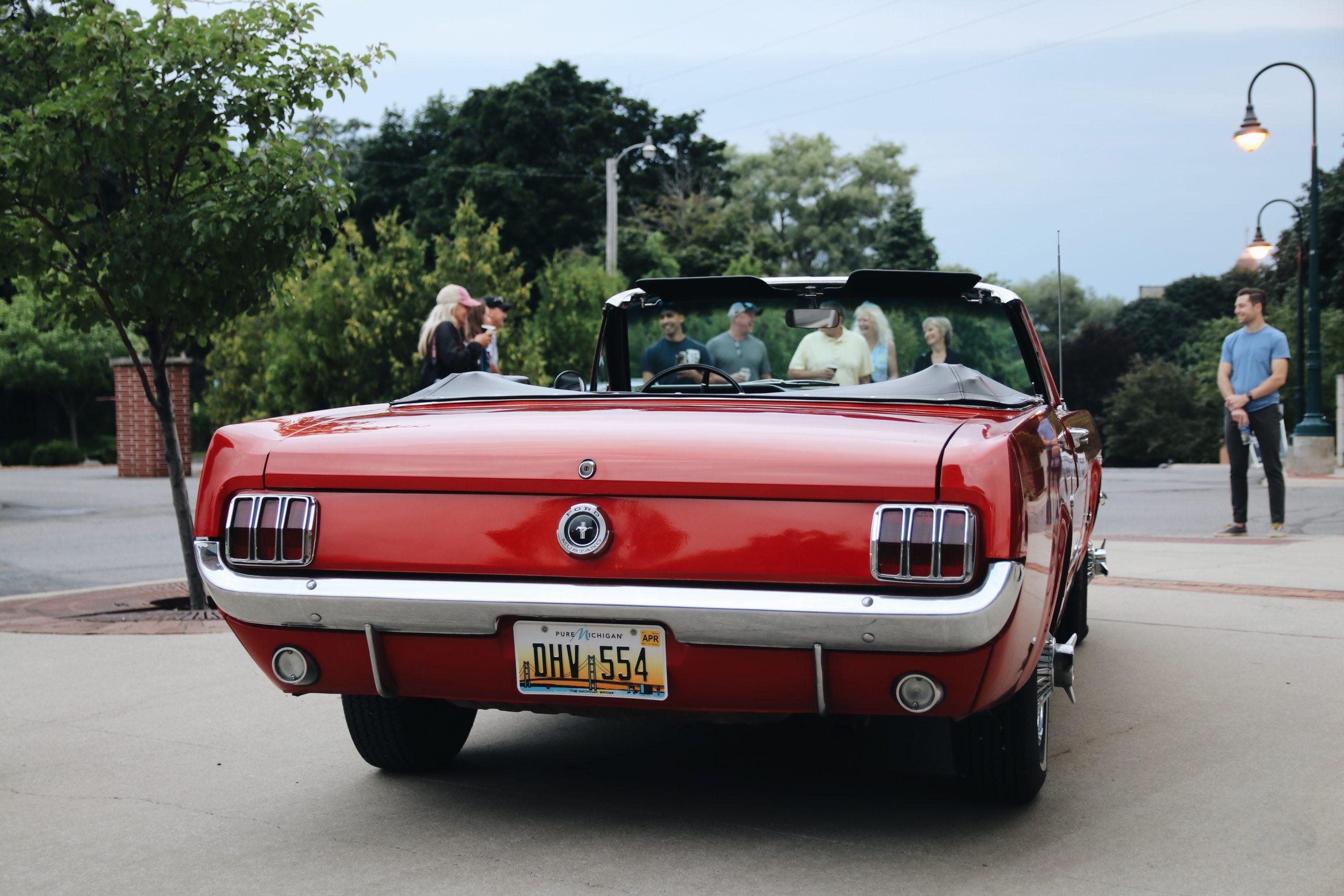 Mel Heppe Mustang rear