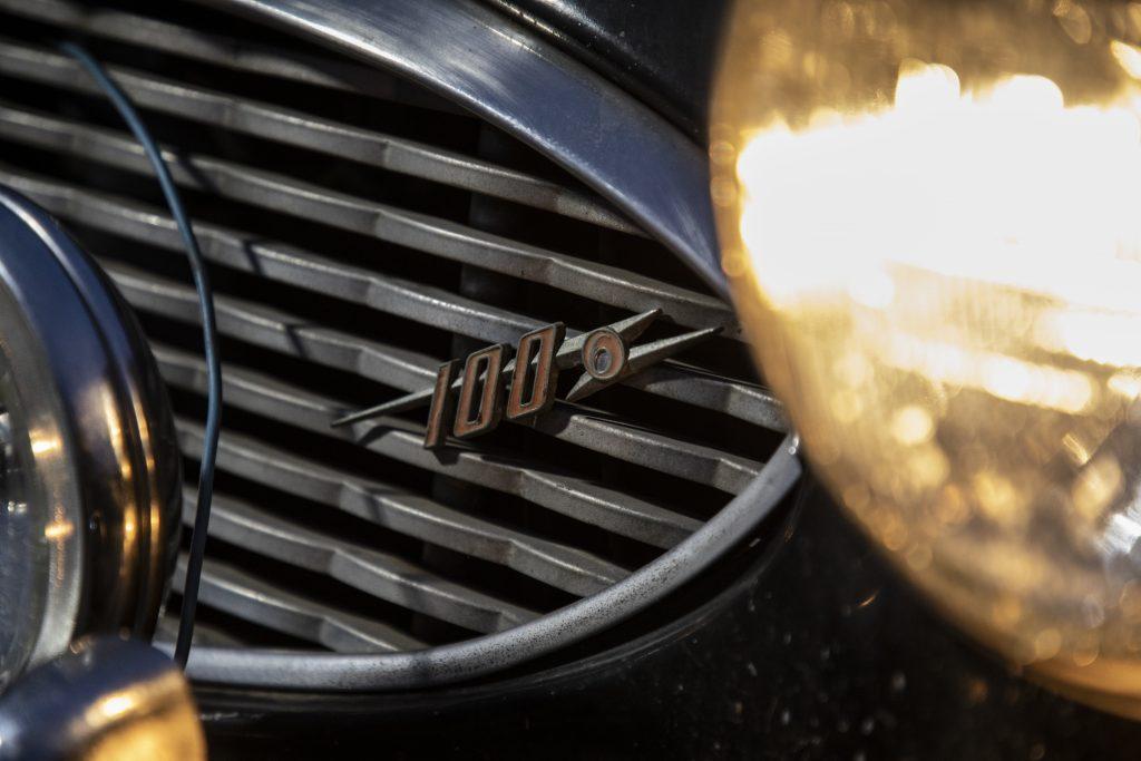Austin-Healey grille detail
