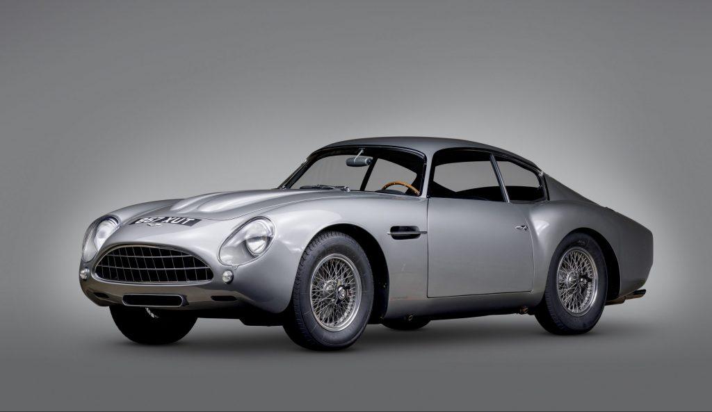 1962-Aston-Martin-DB4GT Zagato front three-quartet studio