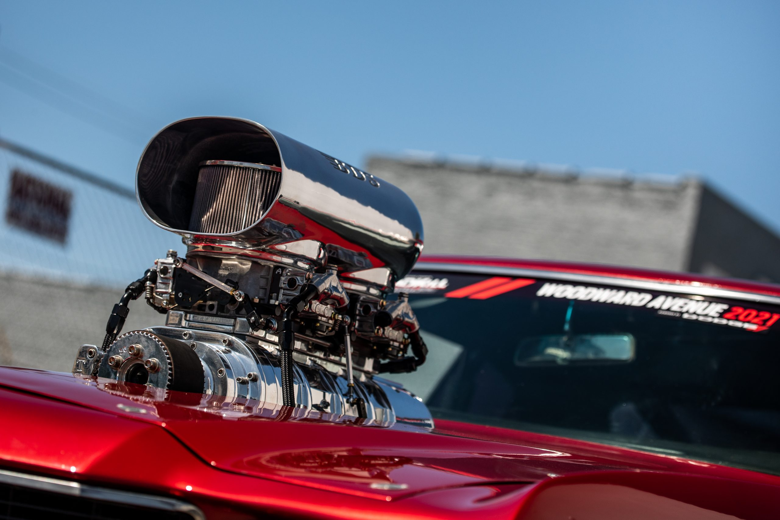 Roadkill Nights 2021 Chevrolet SS engine