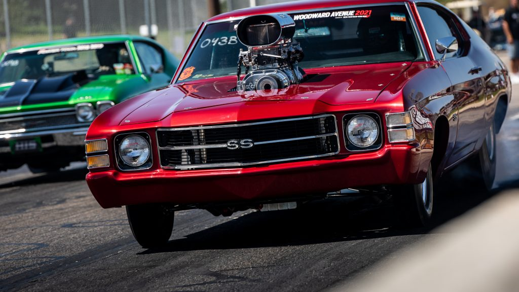 Roadkill Nights 2021 Chevrolet SS burnout