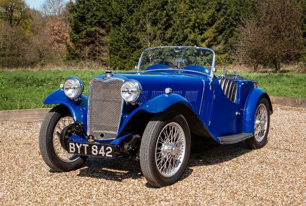 Singer-Nine-Le-Mans-Replica-1935 front three-quarter