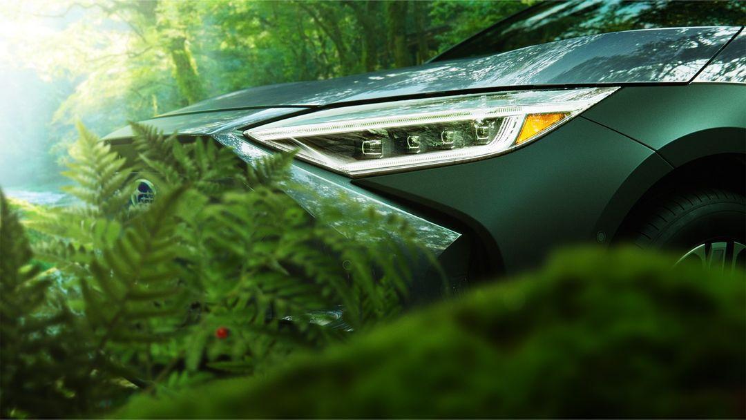 Subaru Solterra front end