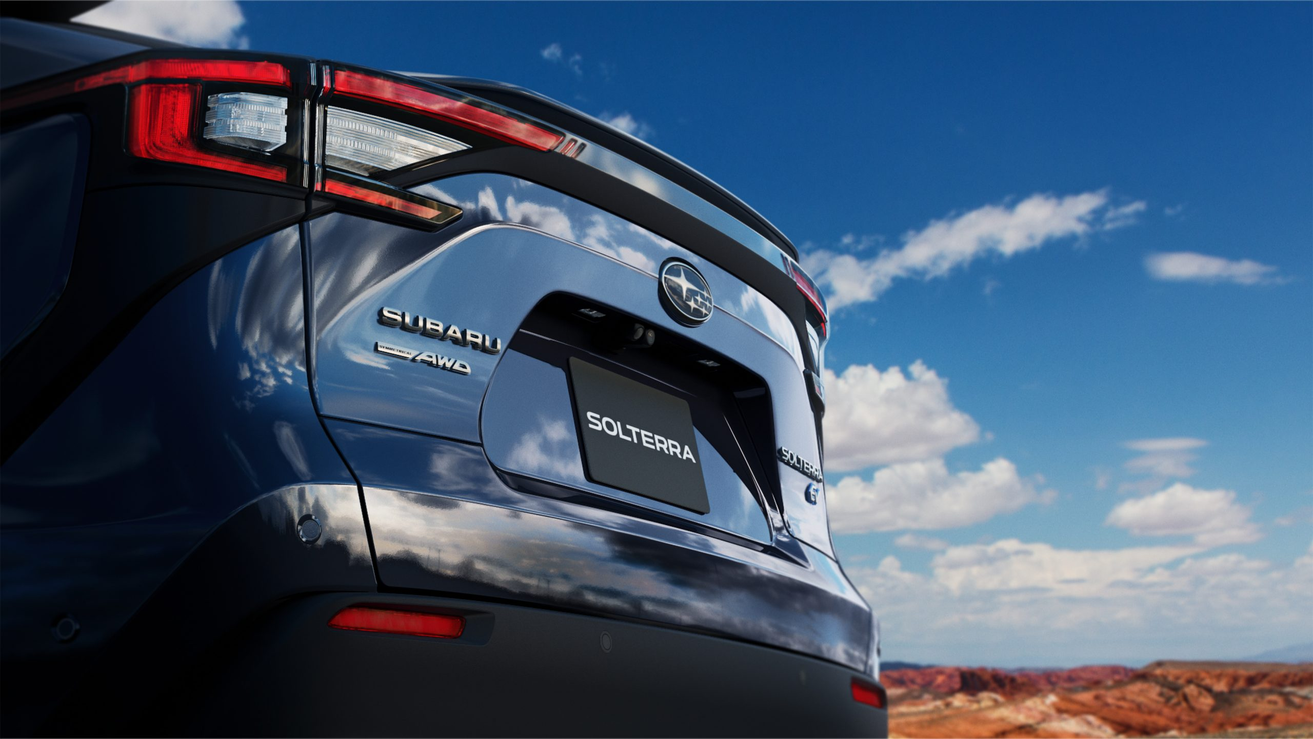 Subaru Solterra rear end
