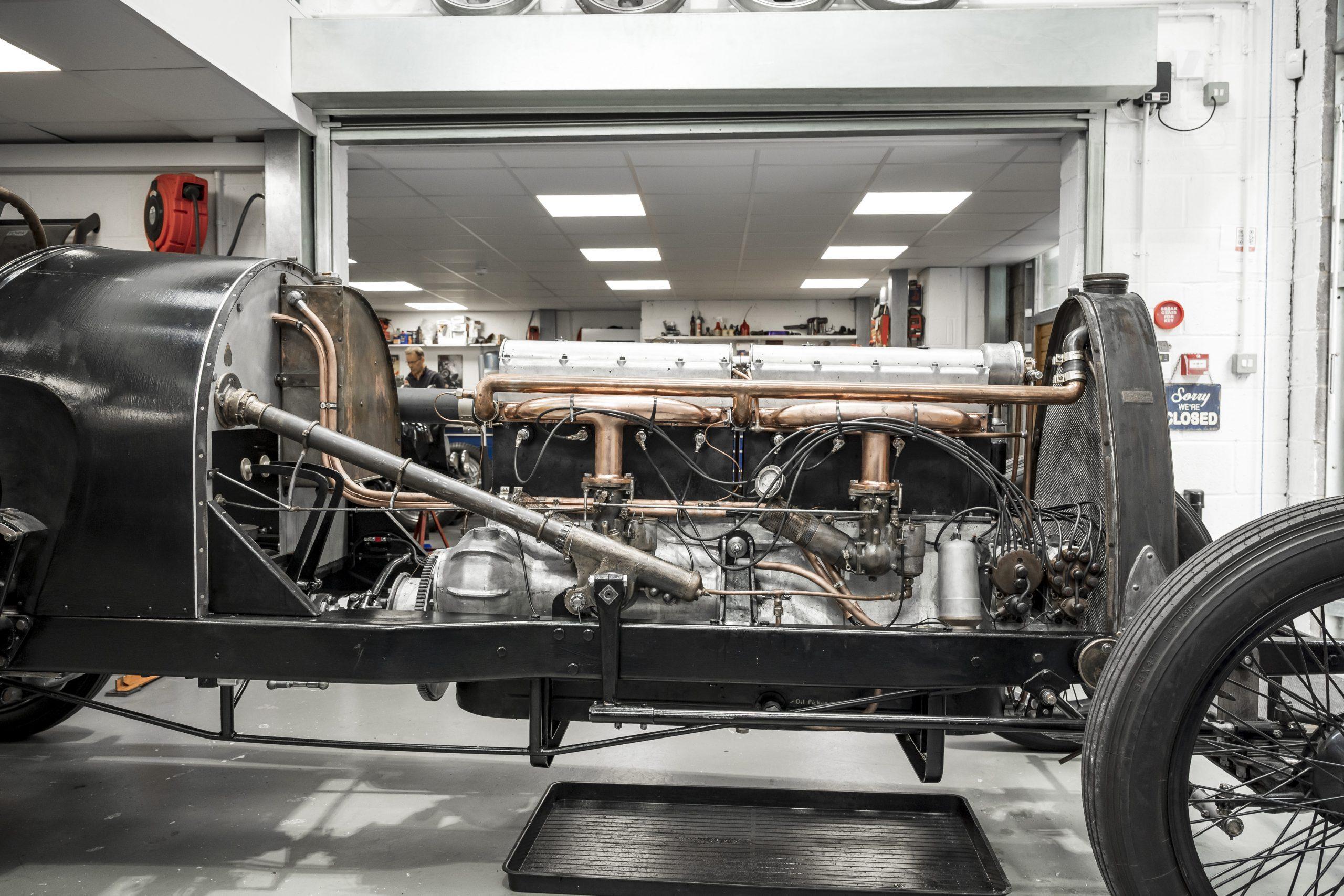 Tula Precision bugatti engine side profile