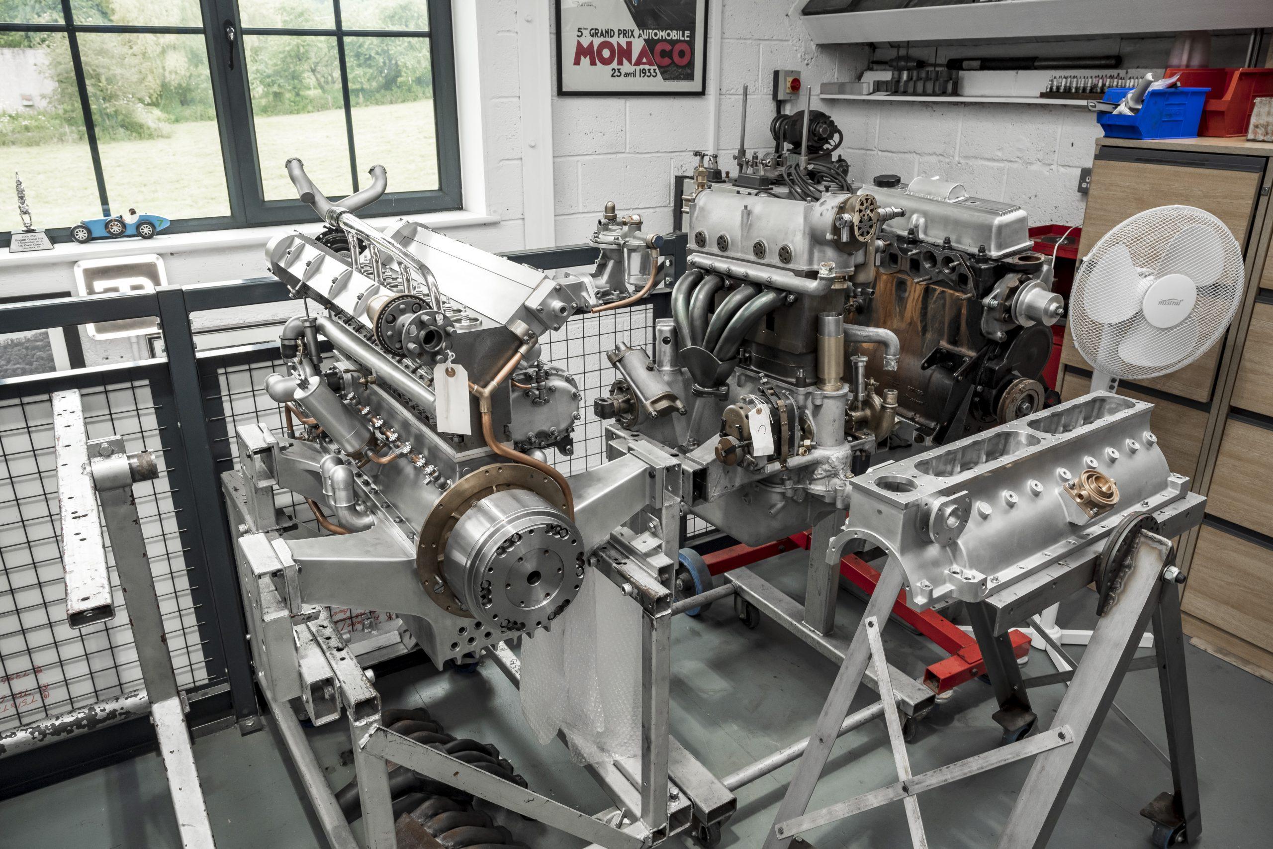 Tula Precision bugatti engines