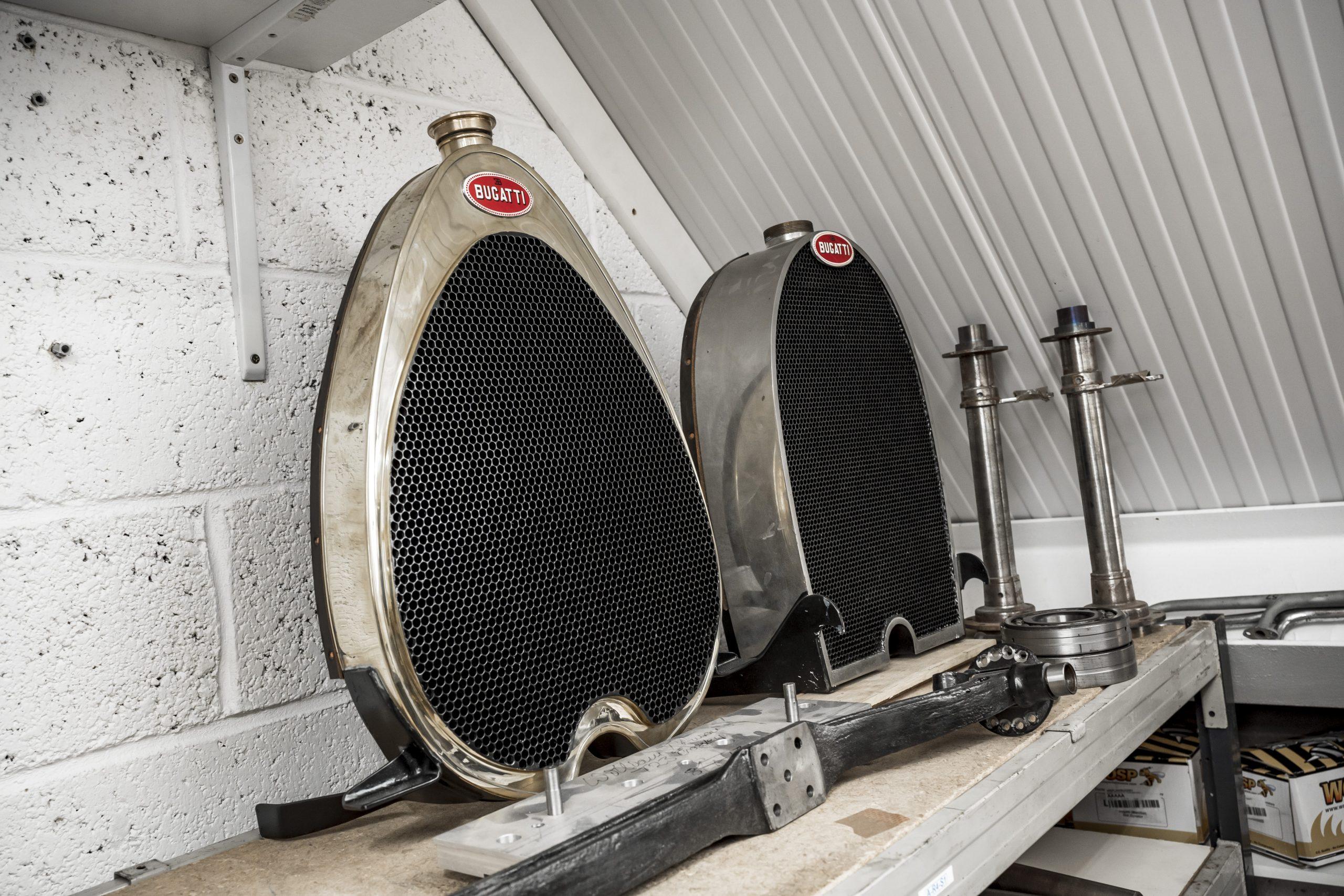 Tula Precision bugatti radiators grille parts
