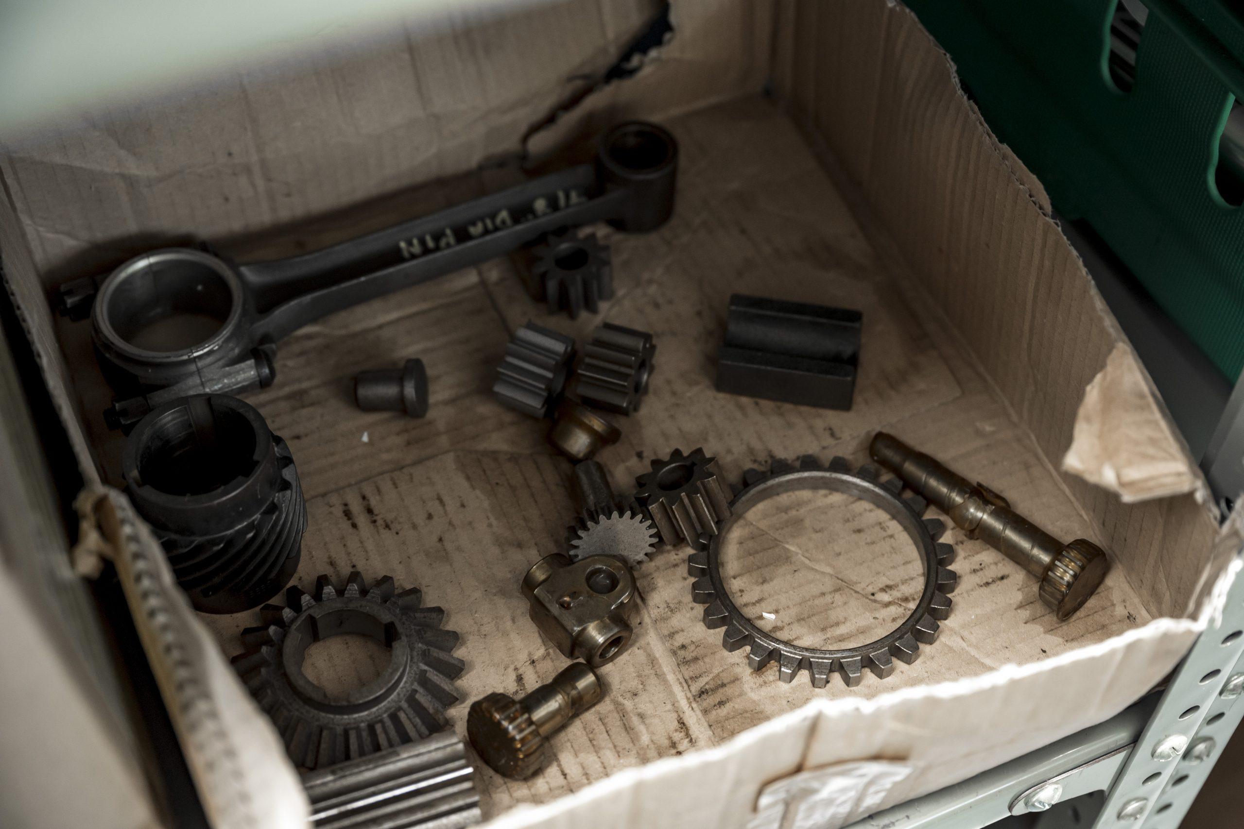 Tula Precision bugatti parts detail