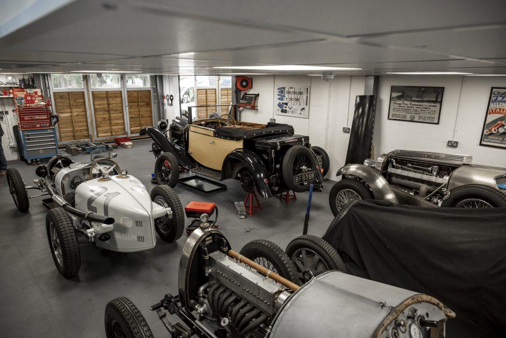 Tula Precision bugatti shop vintage cars