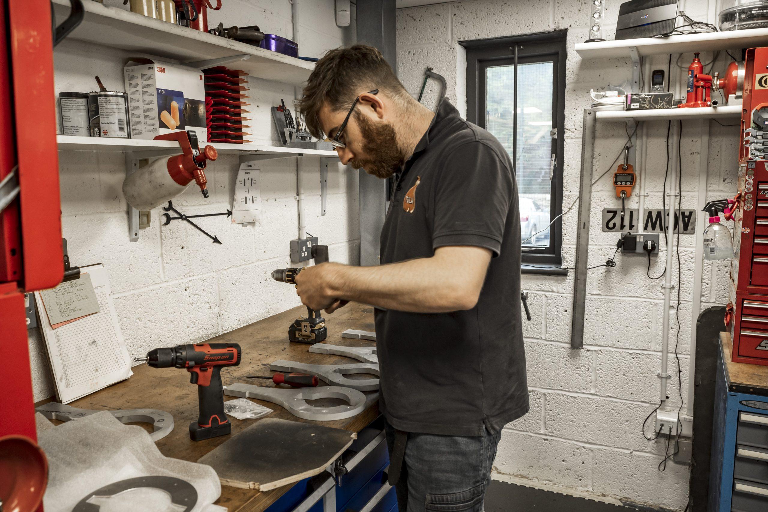 Tula Precision craftsman working