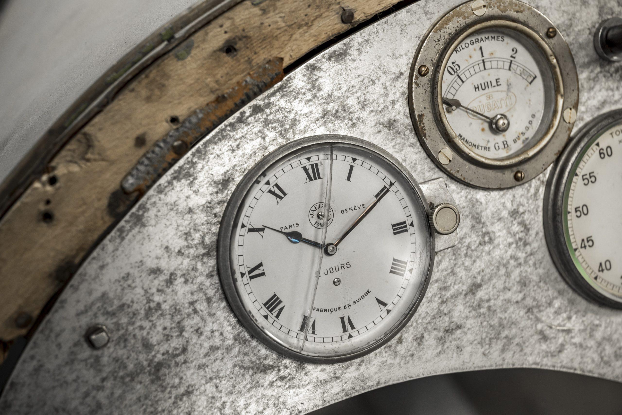 Tula Precision clock gauge detail