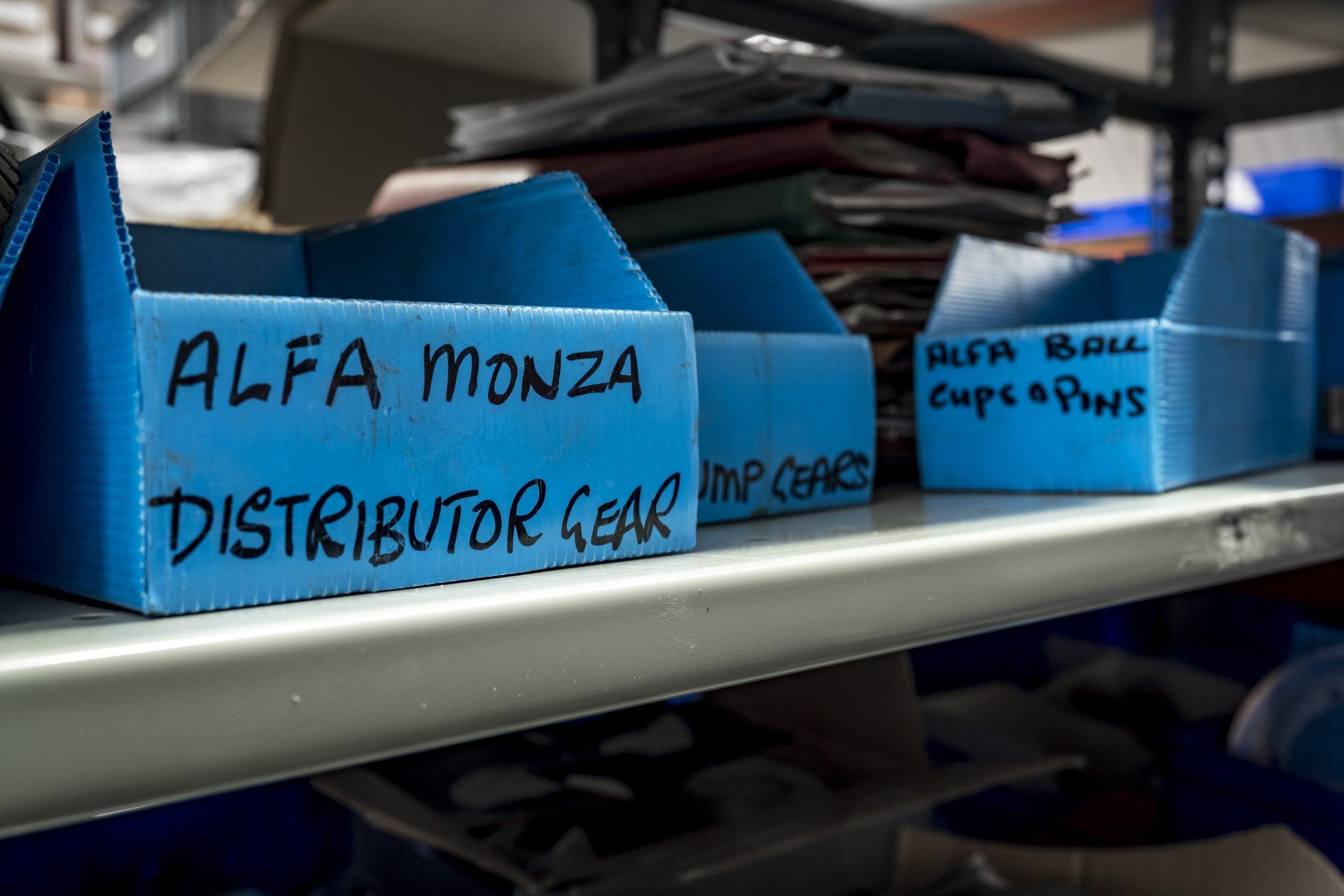 Tula Precision parts boxes