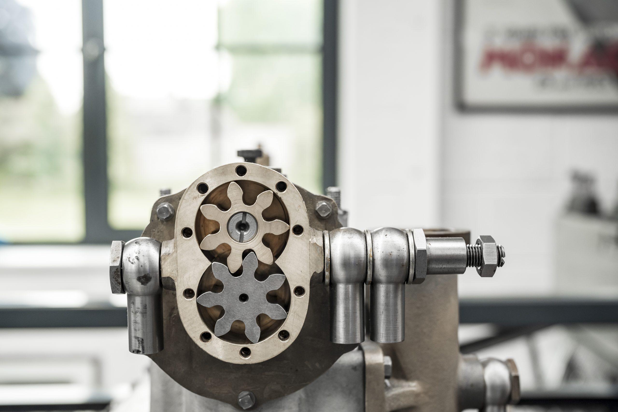 Tula Precision gearing detail