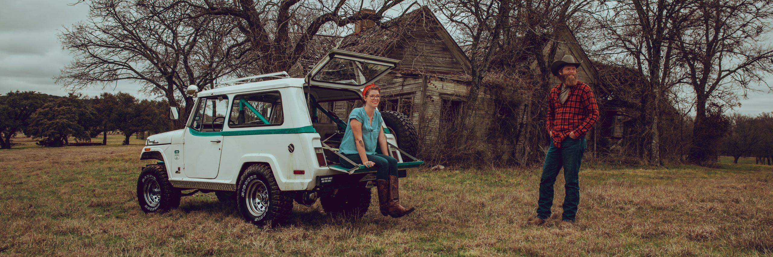 Kate Cook's 1966 Jeepster Command
