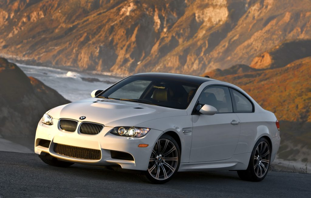 BMW M3 front three-quarter