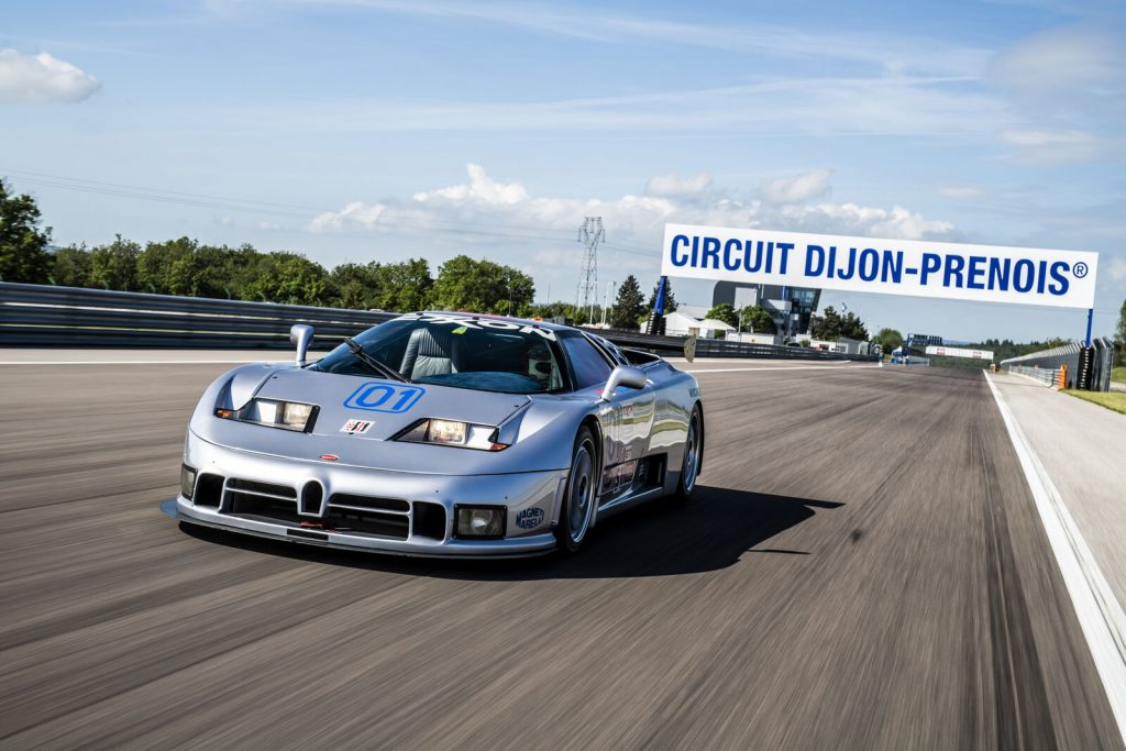 Bugatti EB110 racer