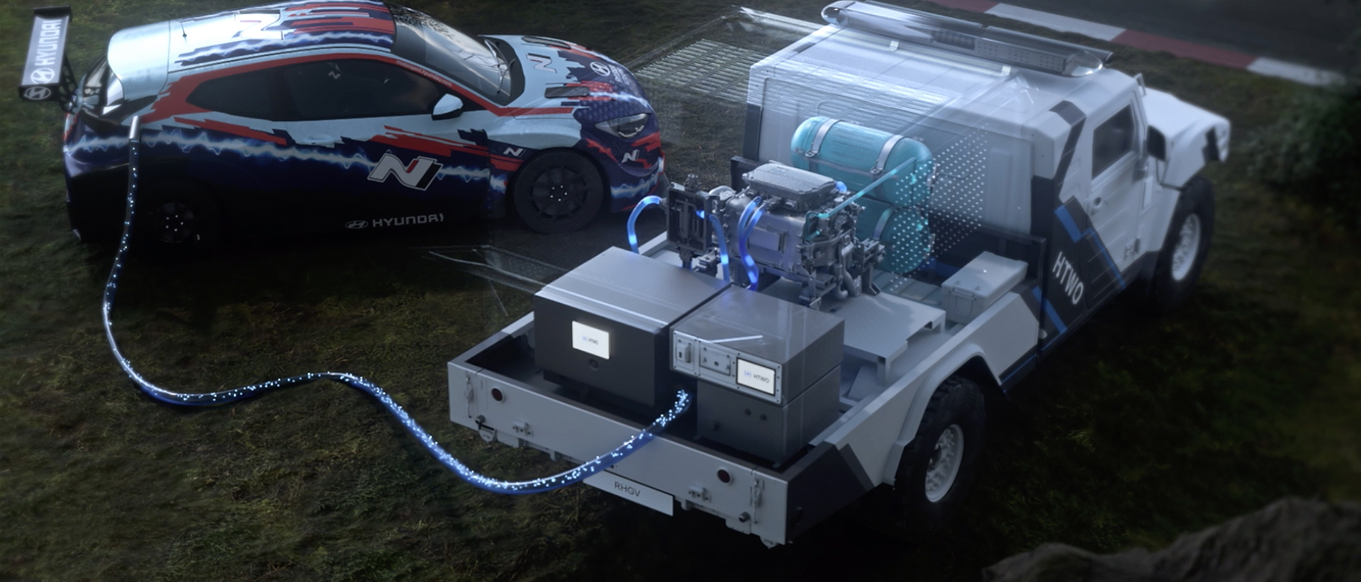 Hyundai hydrogen RHGV veloster n