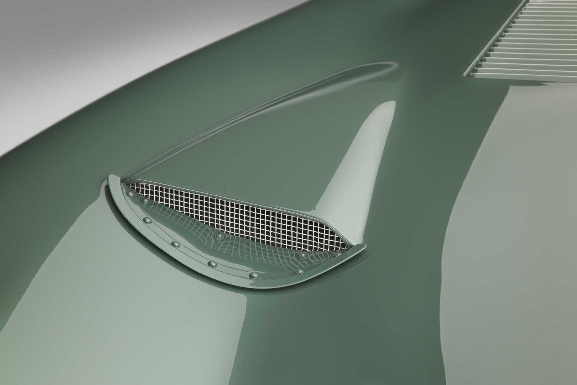Jaguar C-type continuation intake