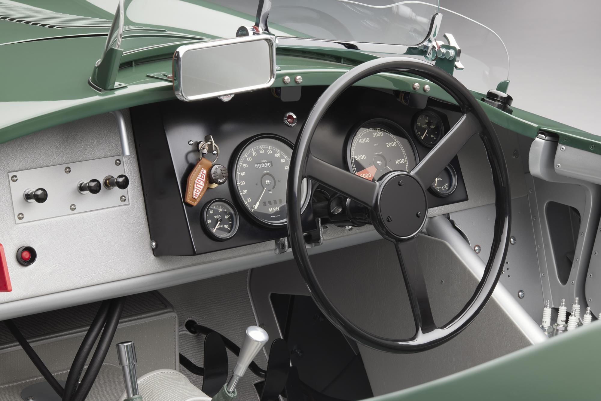 Jaguar C-type continuation cockpit 2