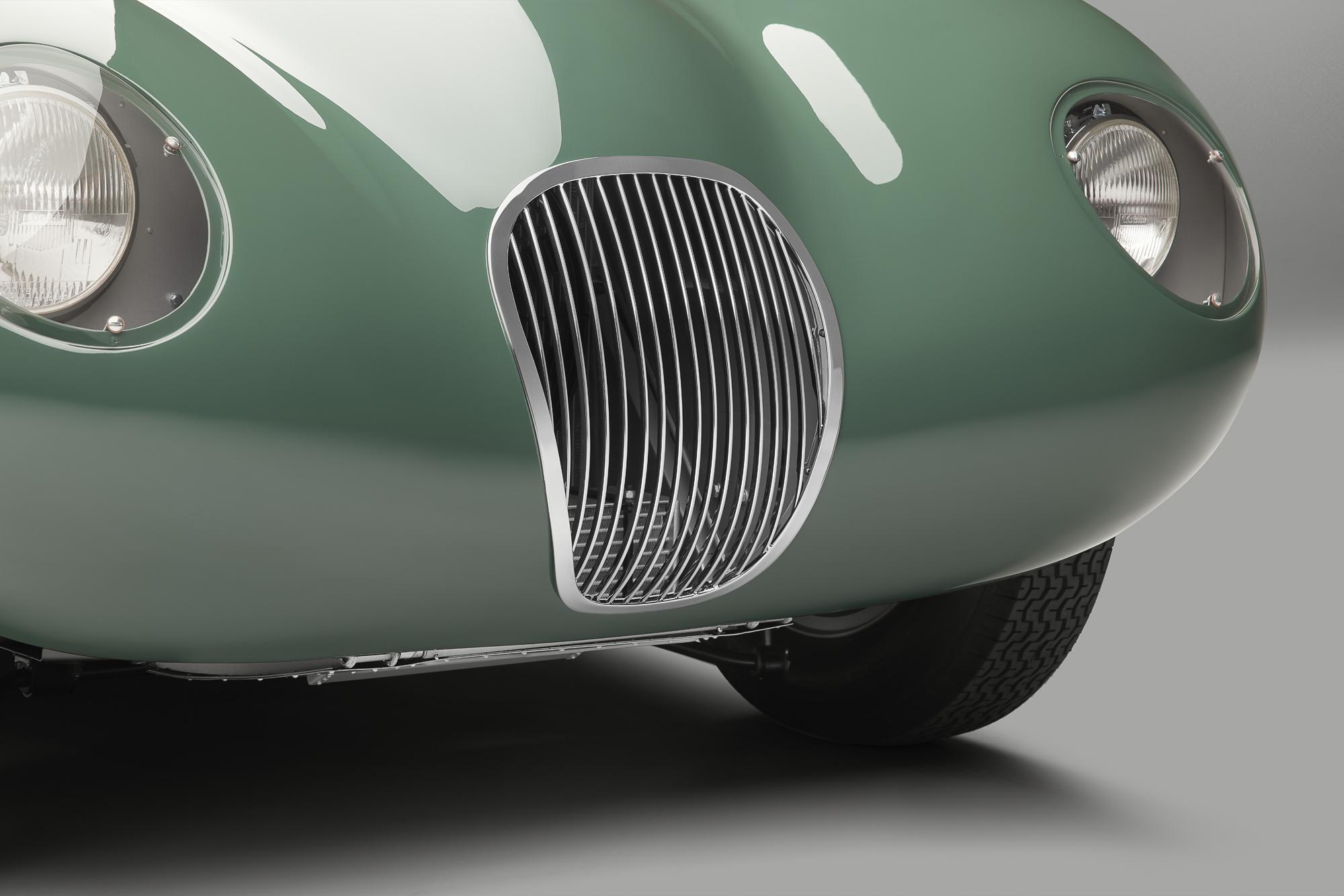 Jaguar C-type continuation grille