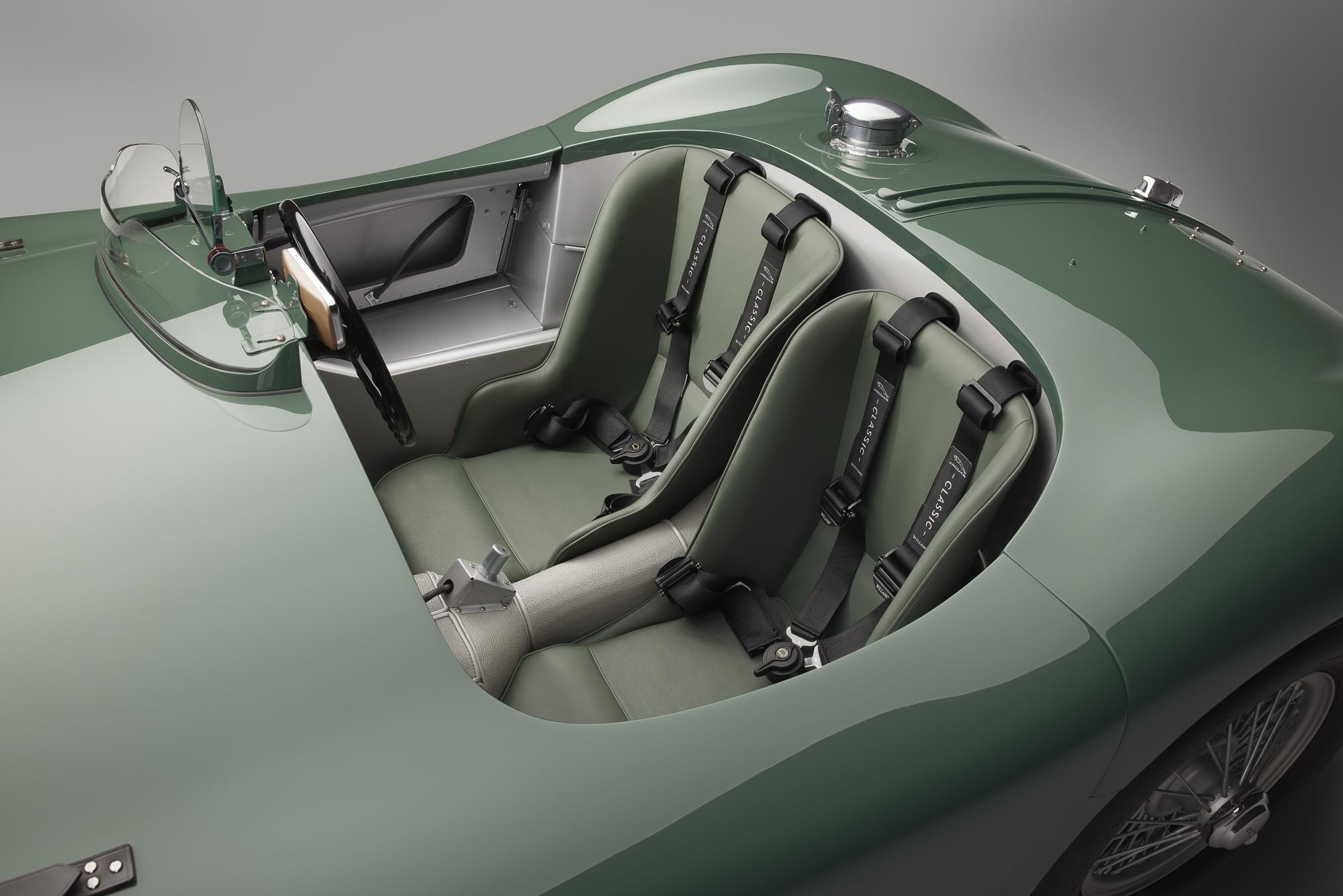 Jaguar C-type continuation seats