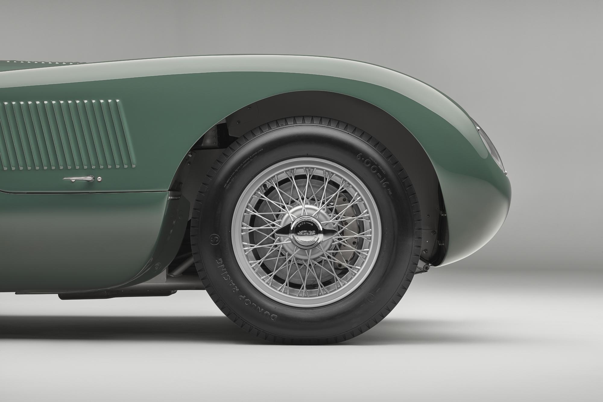 Jaguar C-type continuation wheel