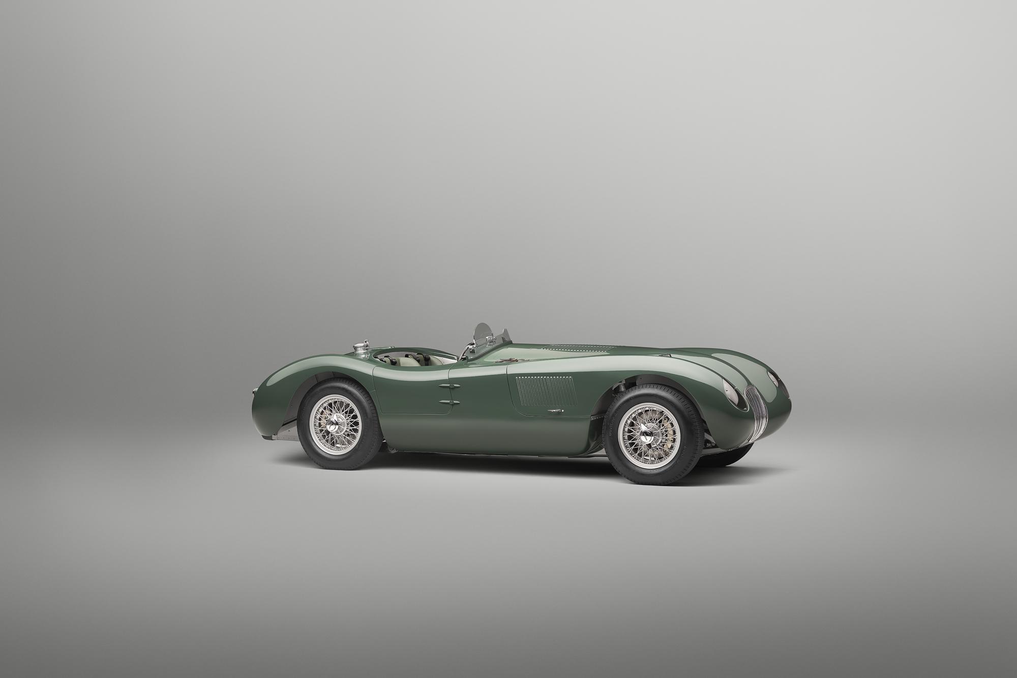 Jaguar C-type continuation side