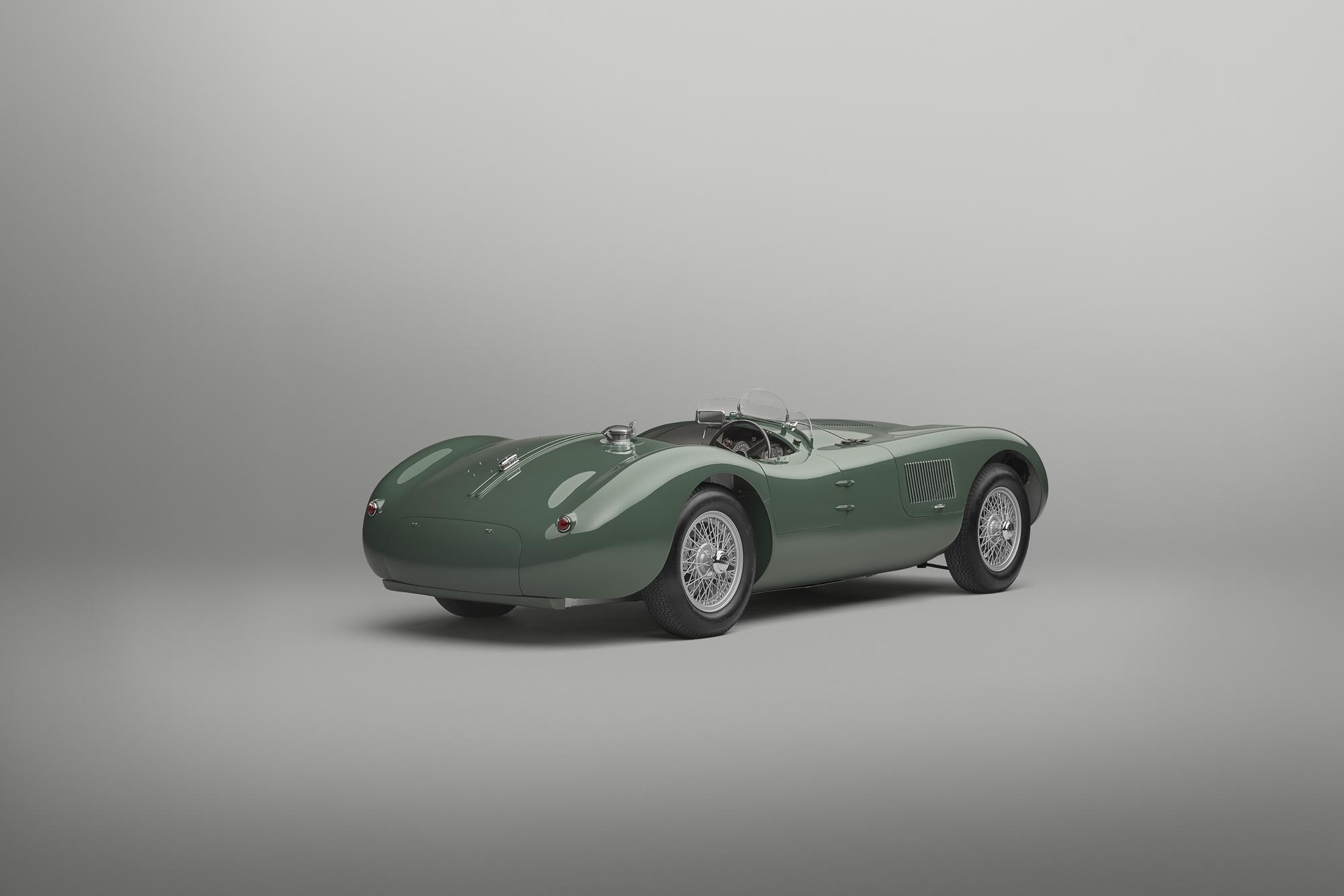 Jaguar C-type continuation rear