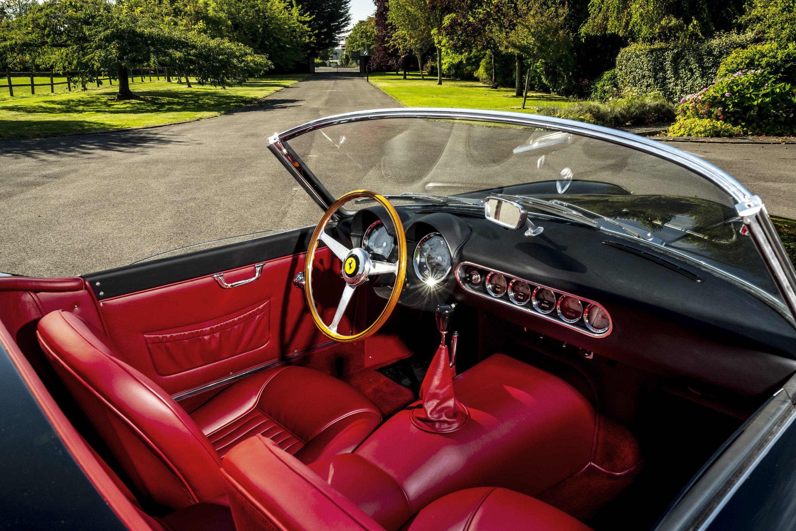 19.GTO Engineering California Spyder Revival interior