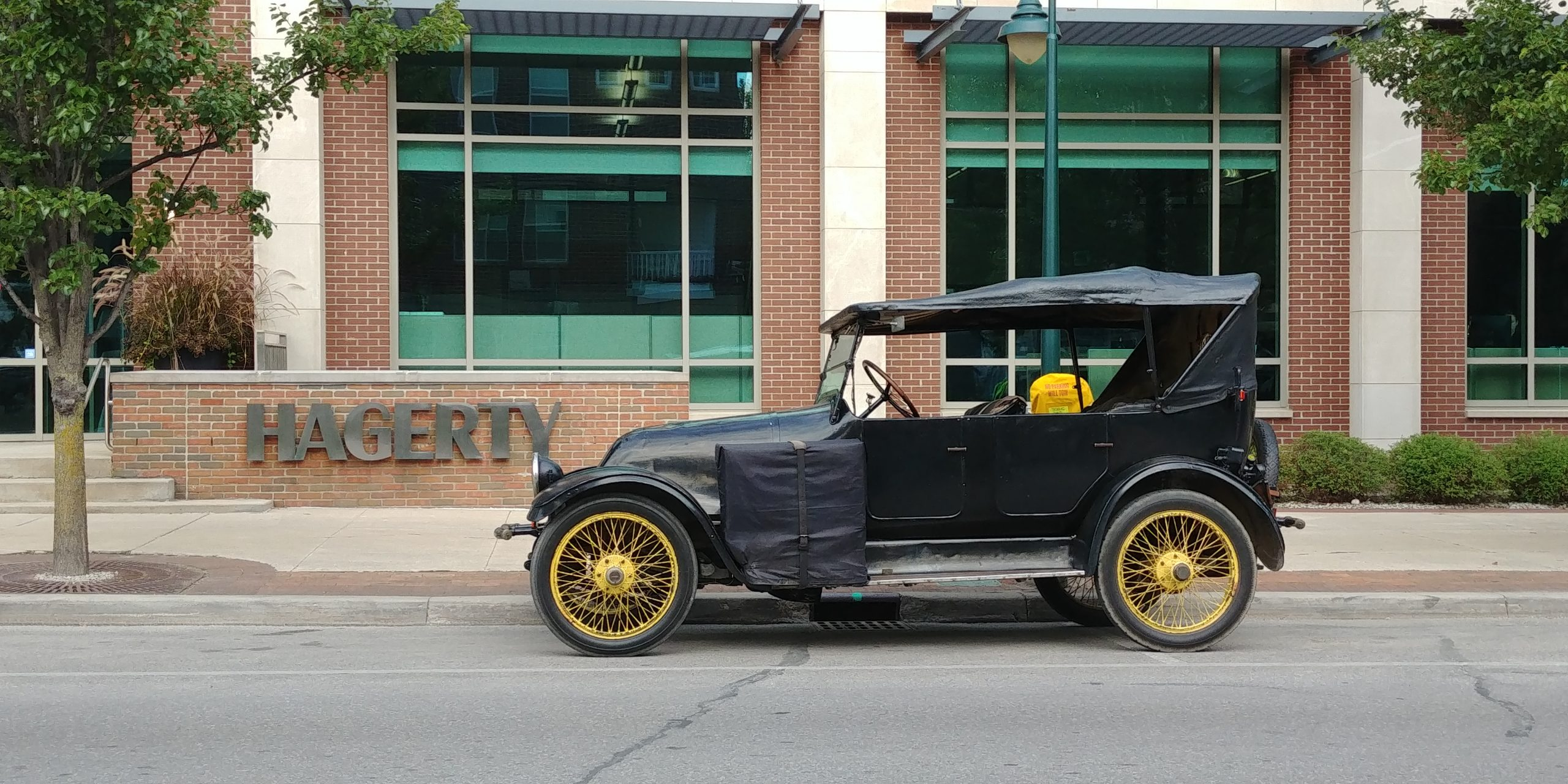 1919 Franklin side profile hagerty headquarters