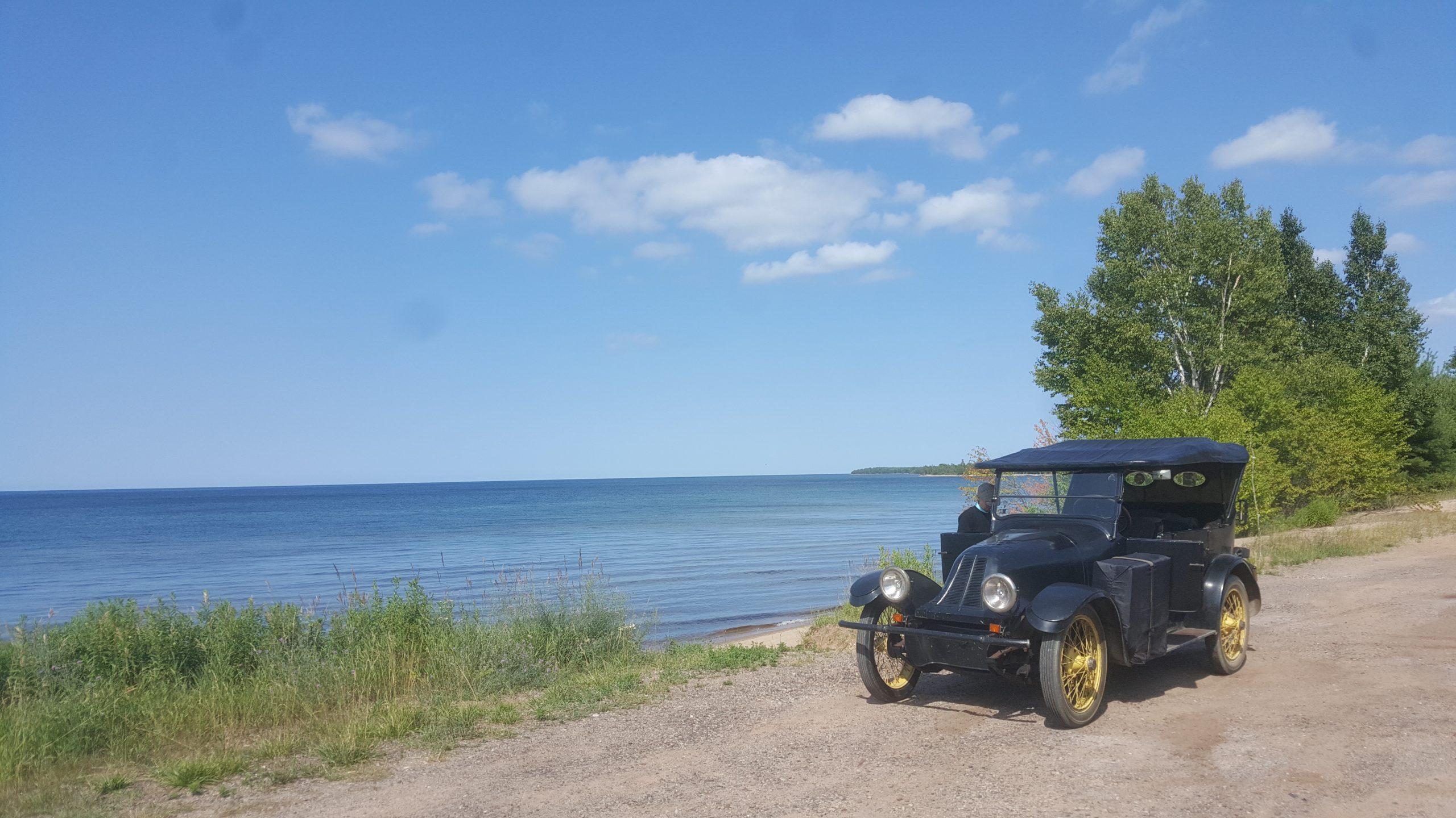 1919 Franklin front three-quarter lakeside